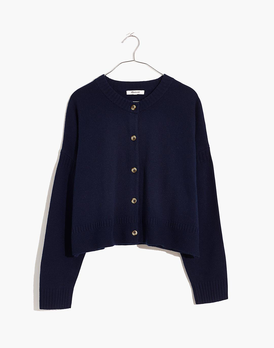 Clemence Cropped Cardigan Sweater