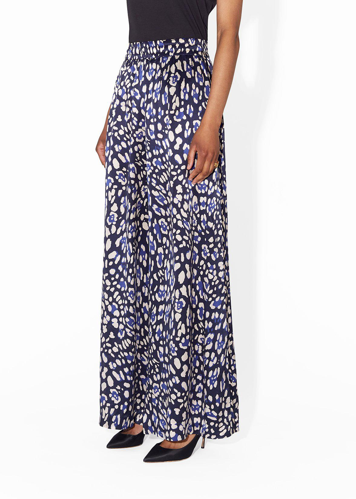 WIDE-LEG PANT IN PRINTED CHARMEUSE 2