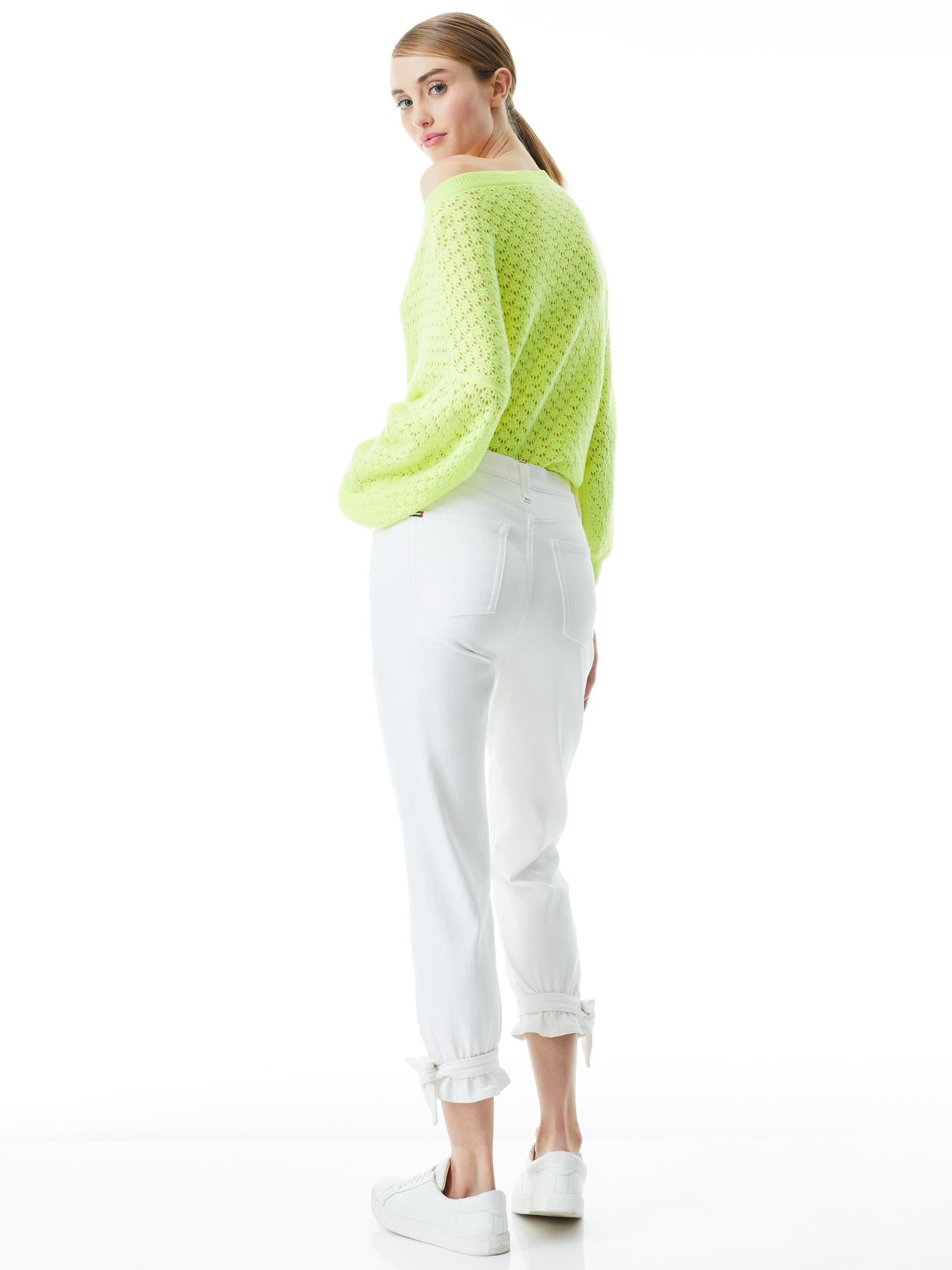AMAZING HIGH RISE TIE PANT 1