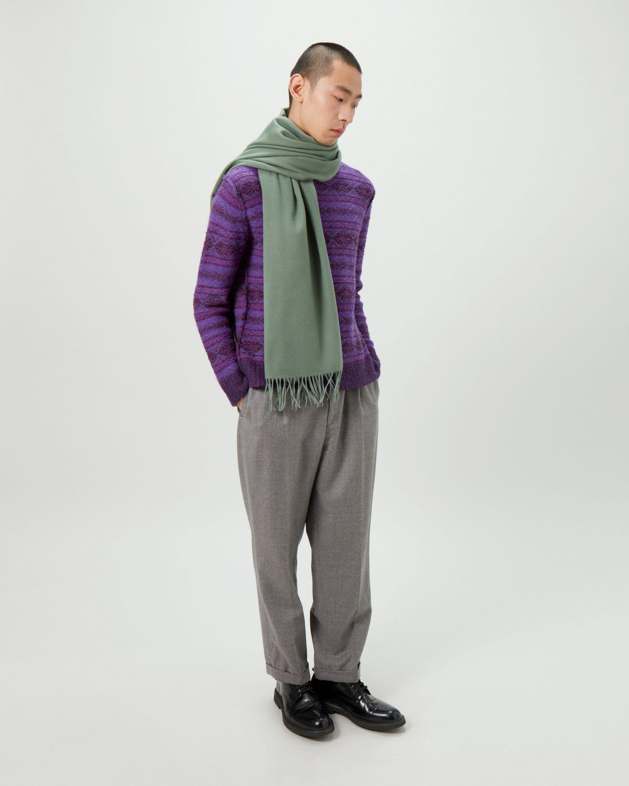 Solid Lambswool Scarf 2