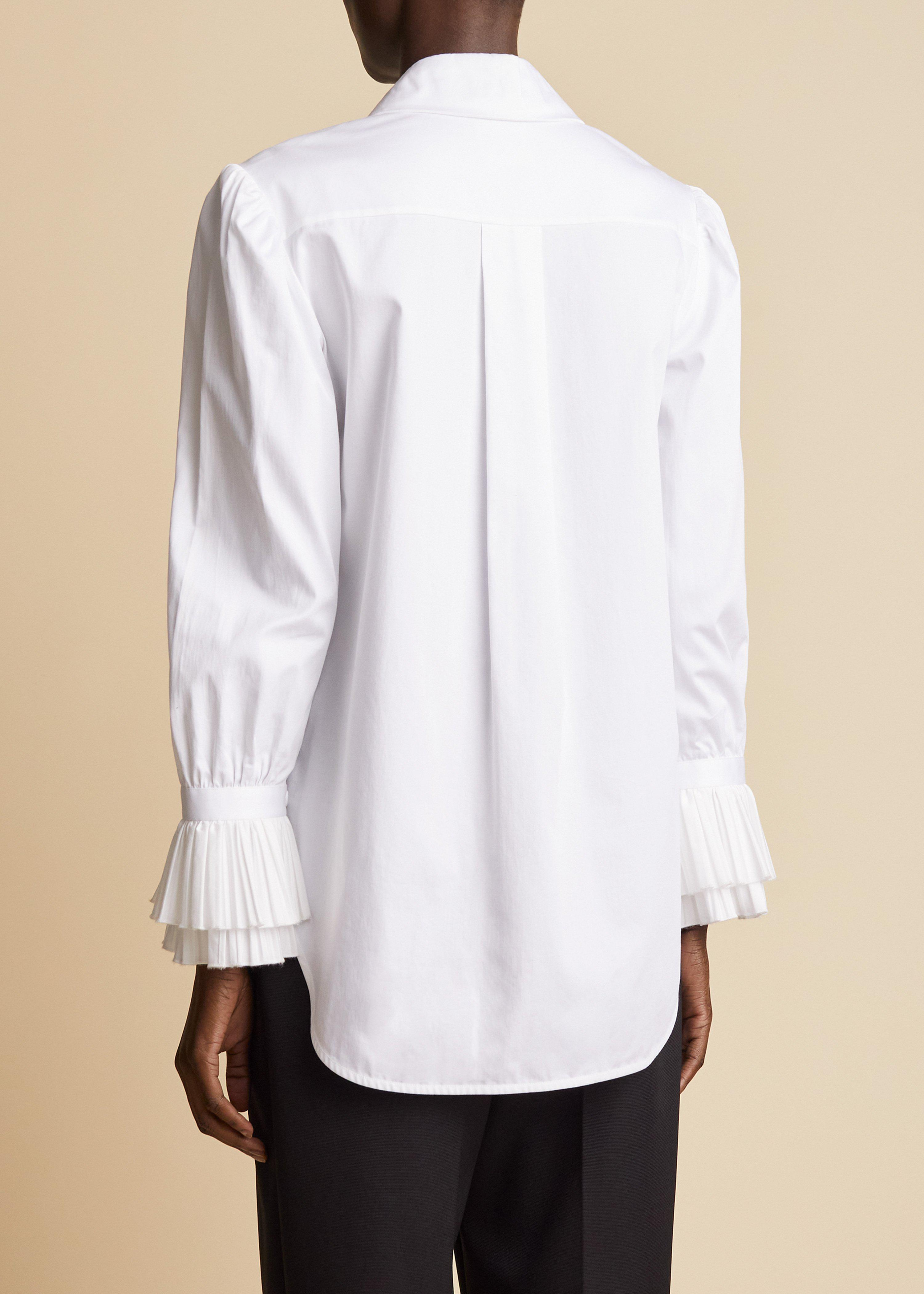 The Mary Top in White 2