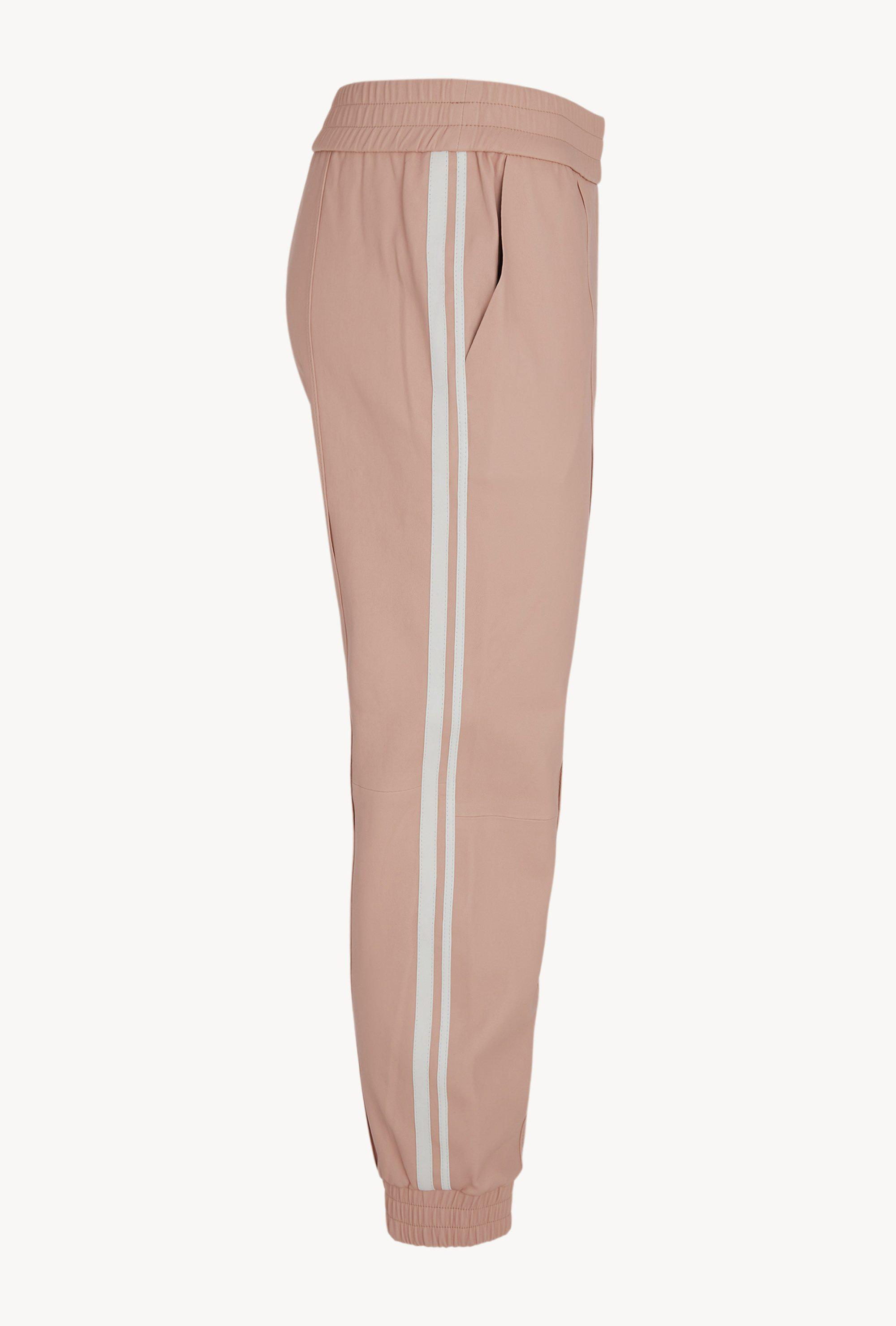 Ballerina Athletic Slim Fit Leather Joggers