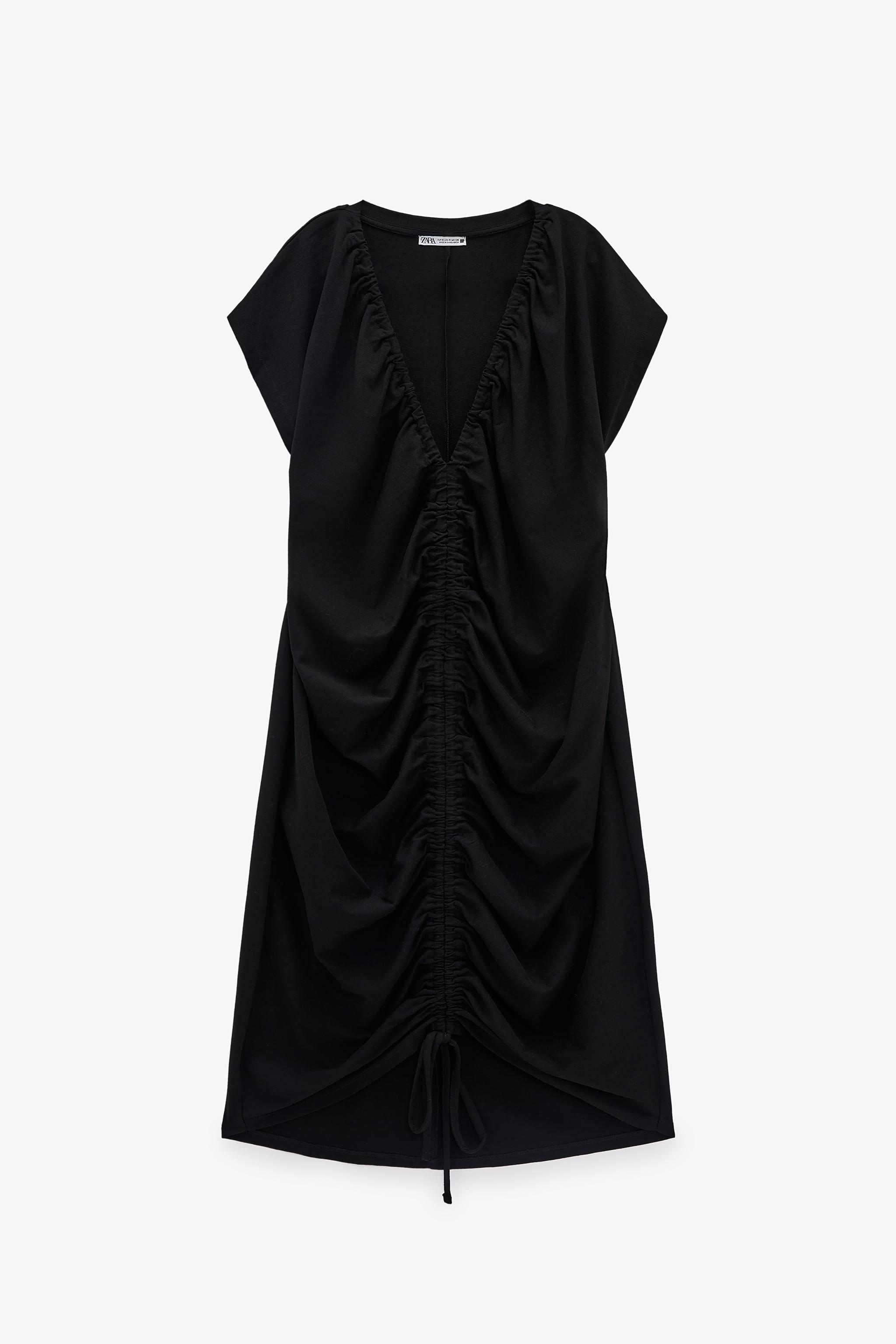 RUCHED DRESS 6