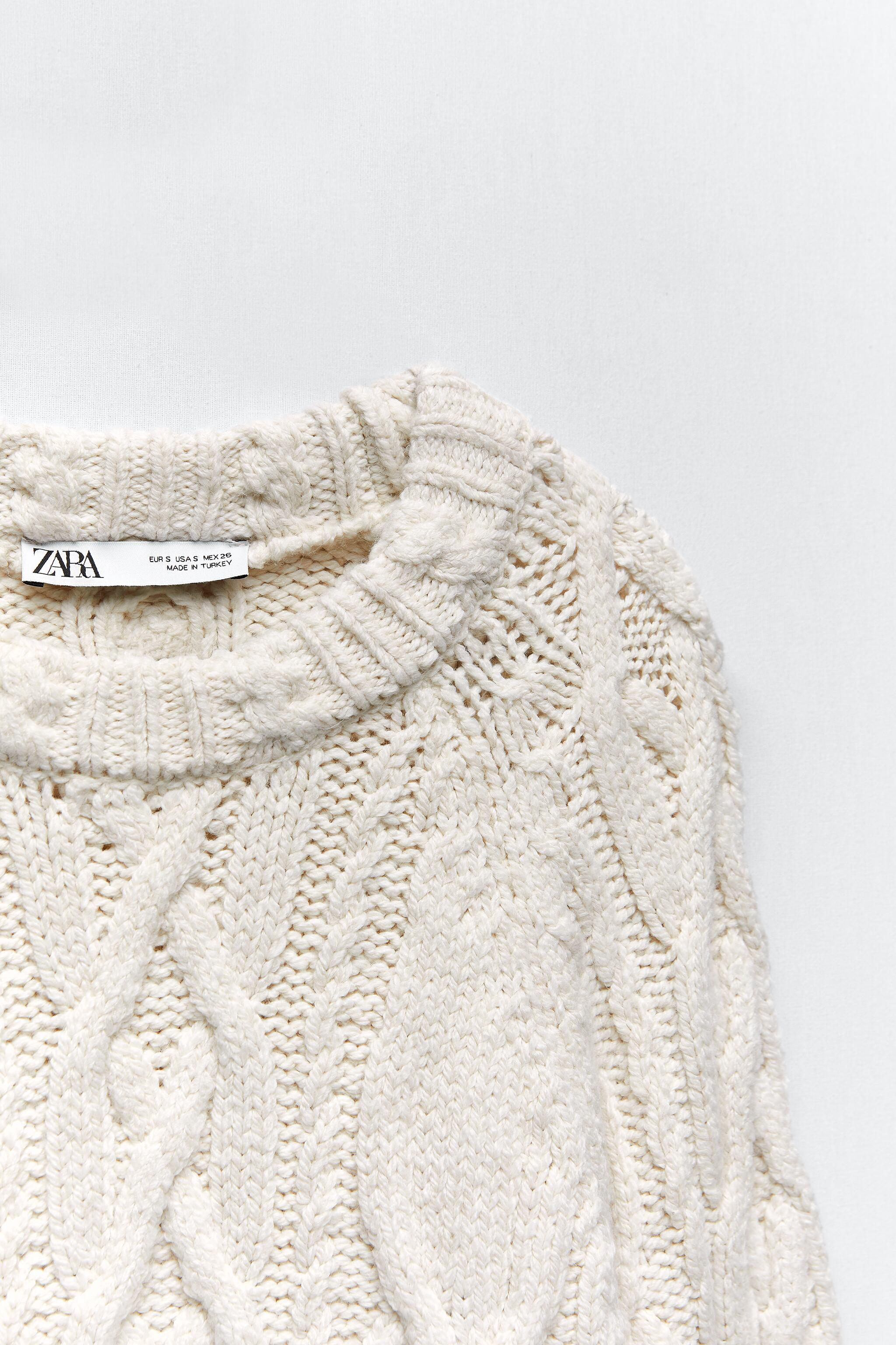 CABLE KNIT SWEATER 5