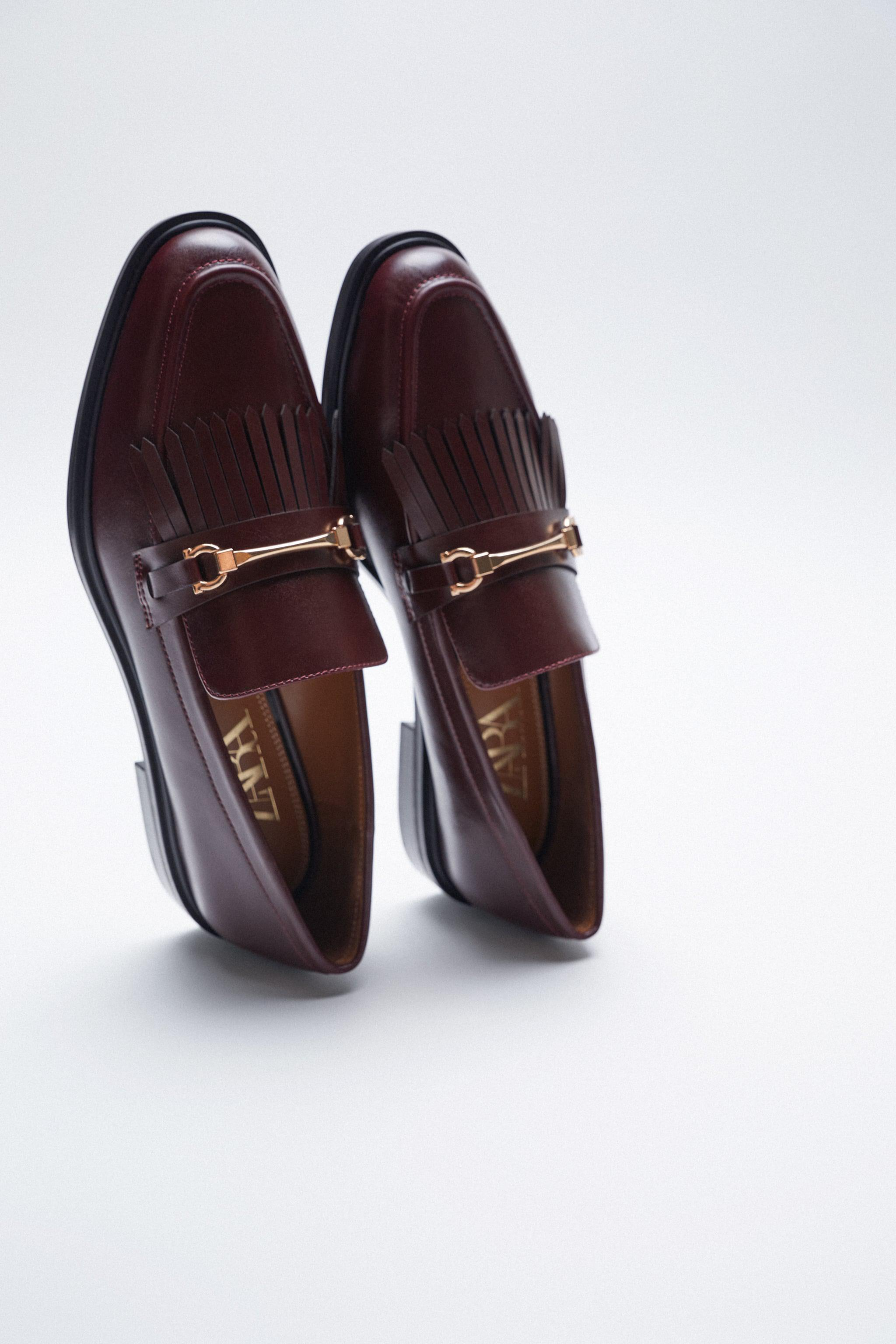LOW HEEL FRINGED LOAFERS 3