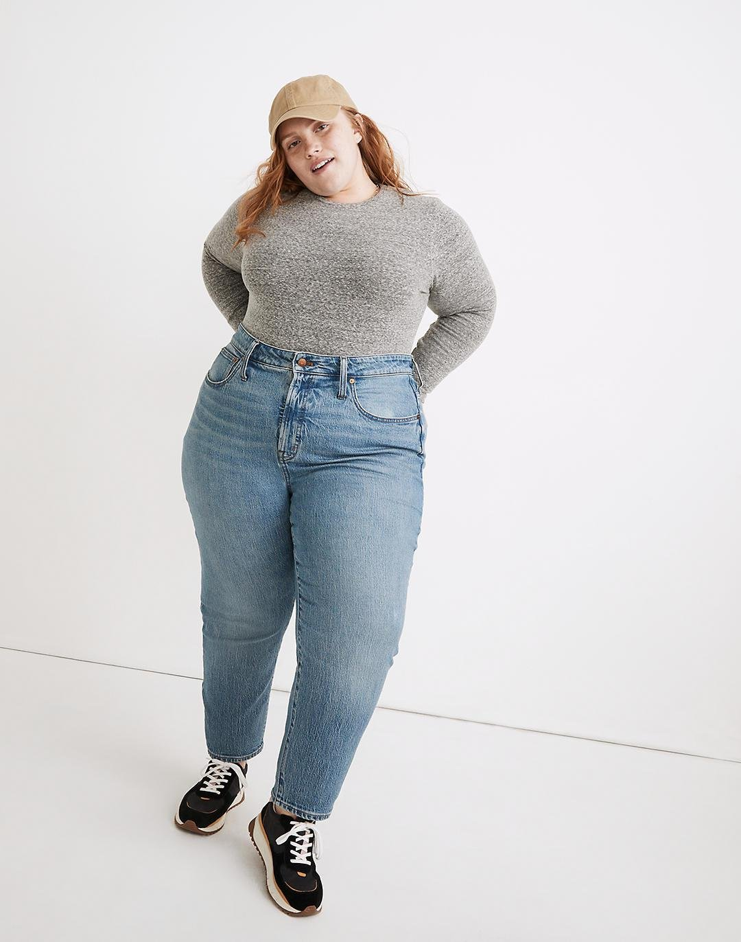 The Plus Curvy Perfect Vintage Jean in Banner Wash