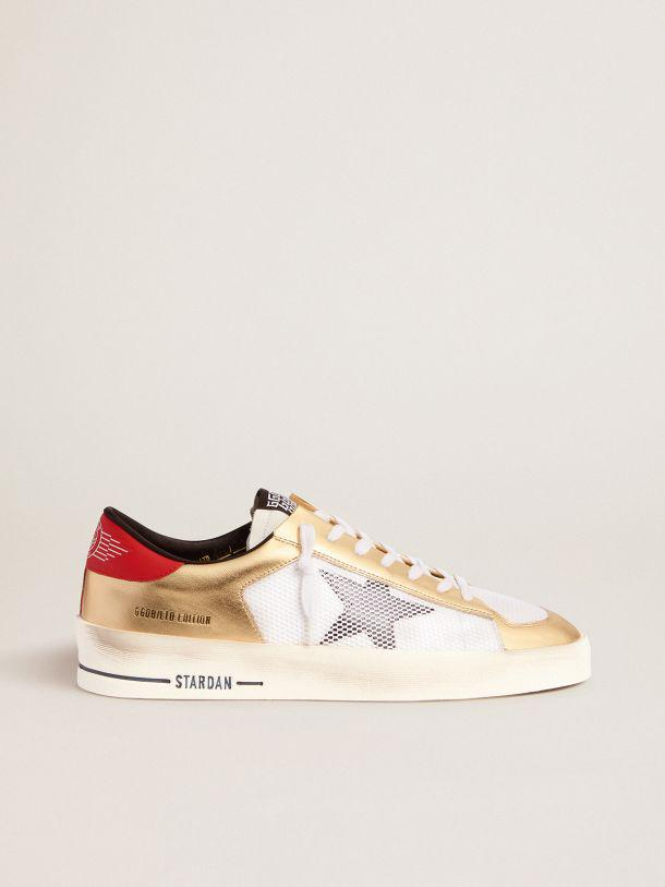 Women's Limited Edition Stardan sneakers with gold inserts