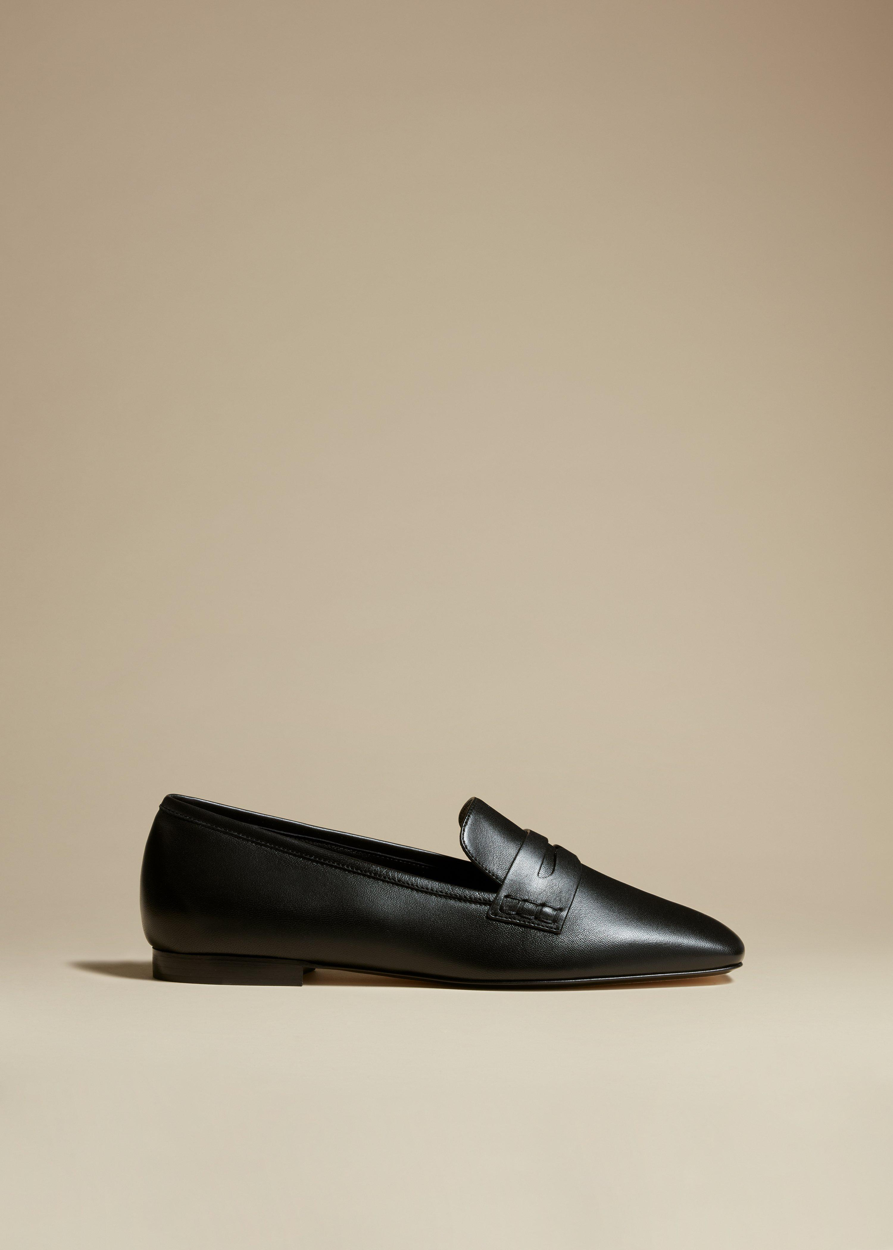 The Carlisle Loafer in Black Leather