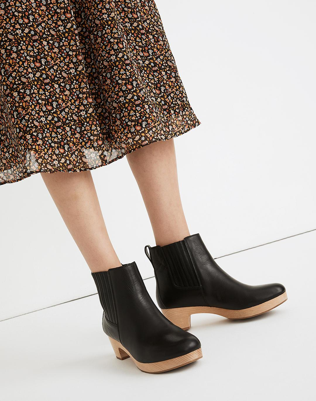 The Clog Boot in Leather 3