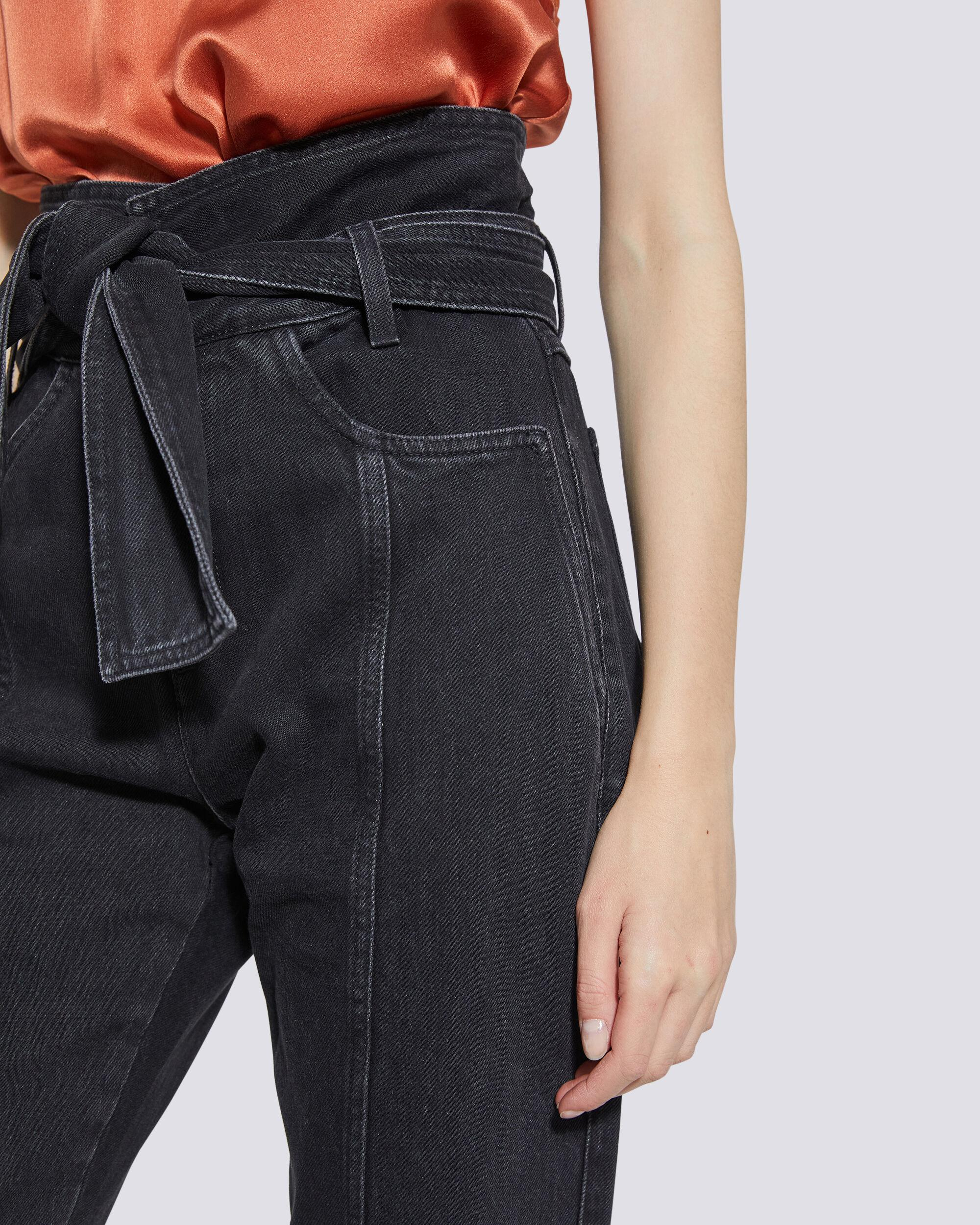 OUZILLY PAPERBAG HIGH WAIST JEANS 3