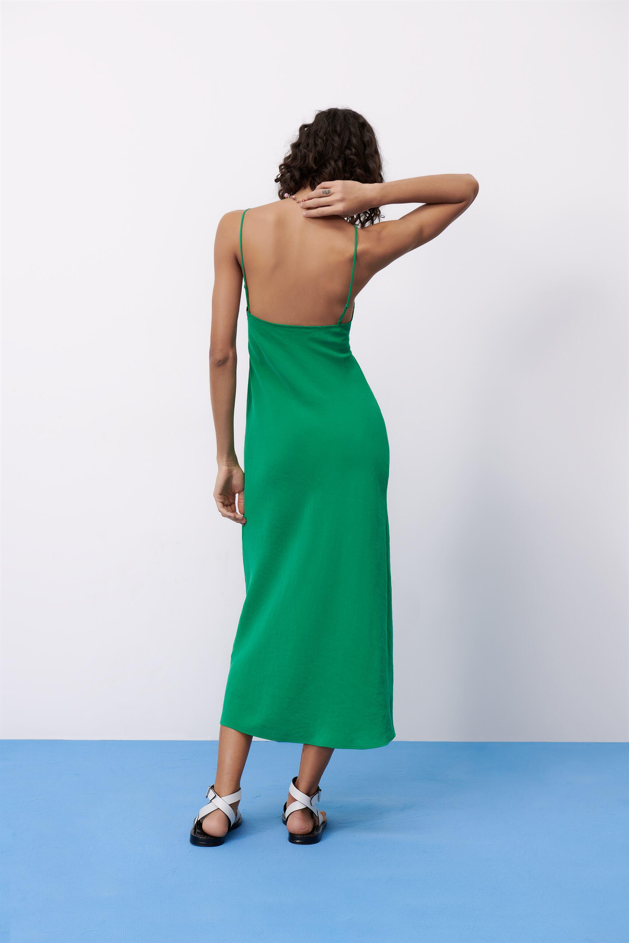 LONG RUCHED DRESS 2