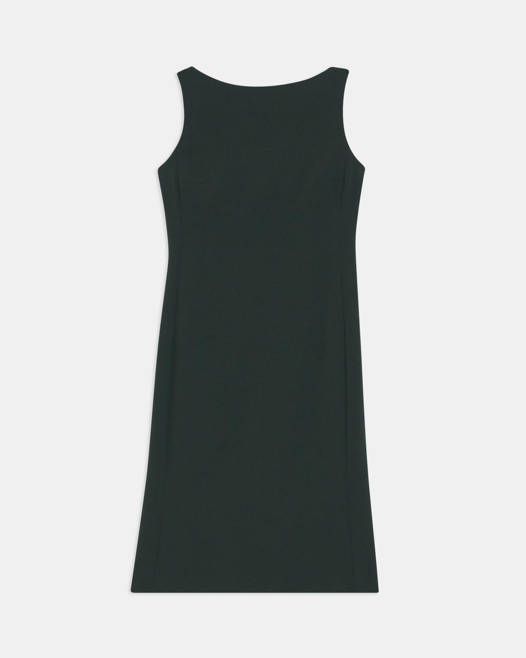 Flared Dress in Crepe 5