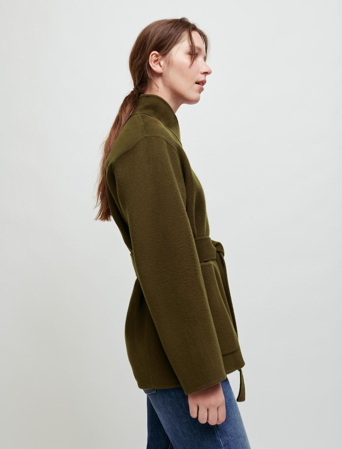 DOUBLE-SIDED BELTED JACKET 3