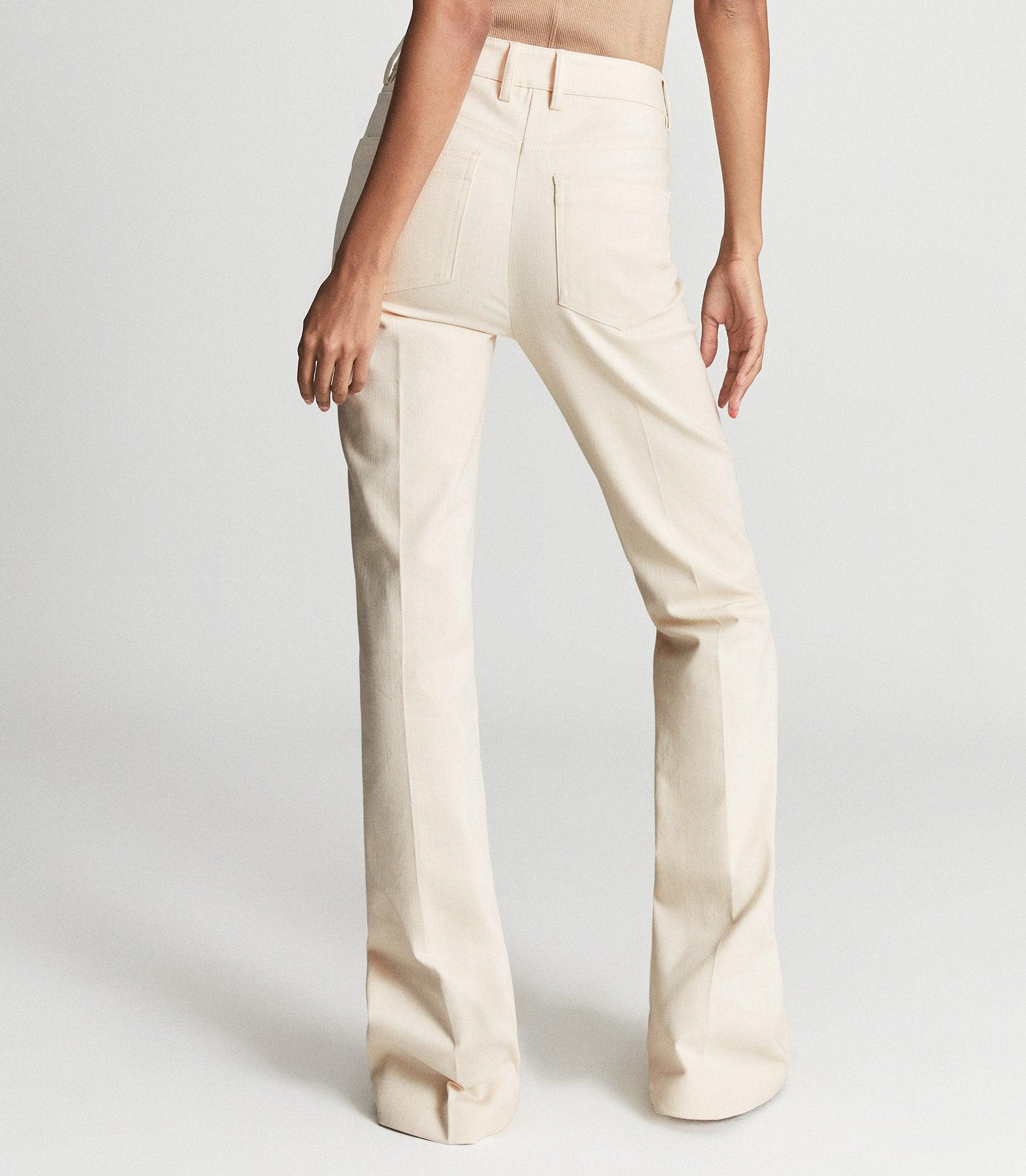 FLORENCE - HIGH RISE FLARED TROUSERS 3