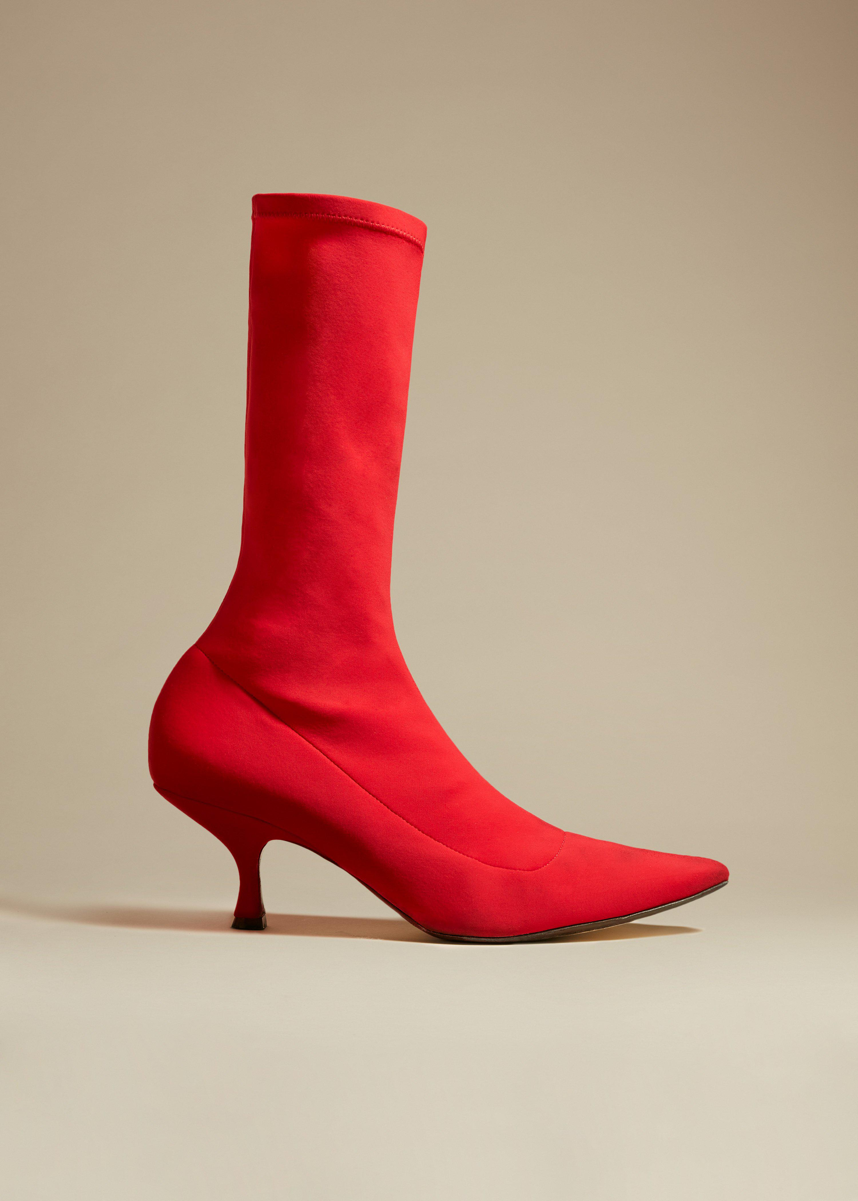 The Taylor Boot in Red