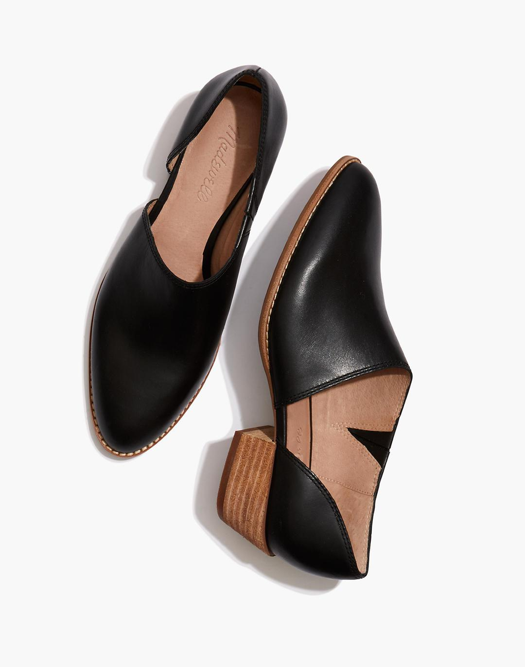 The Lucie Shoe in Leather