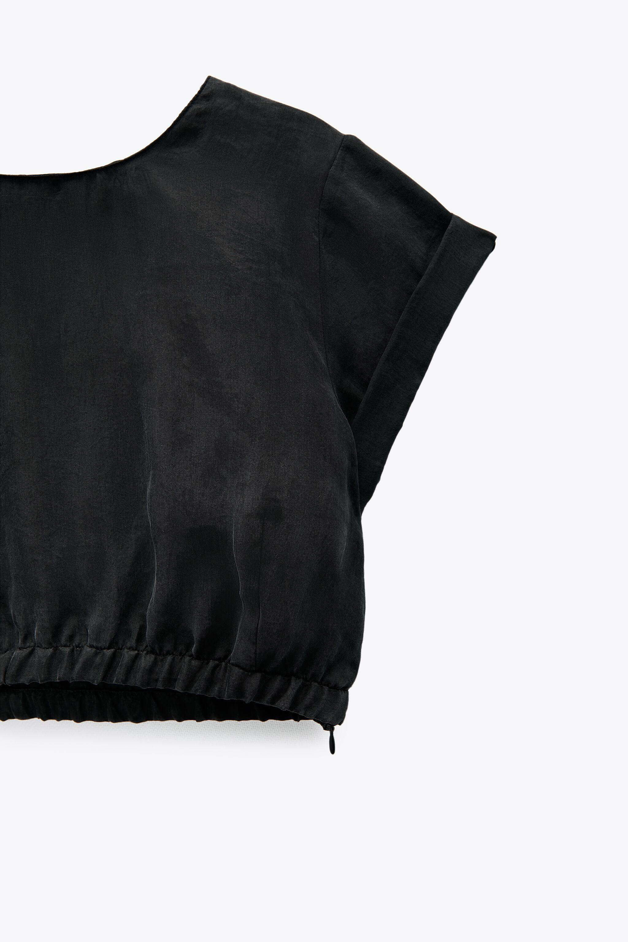 FLOWY CROPPED TOP 5