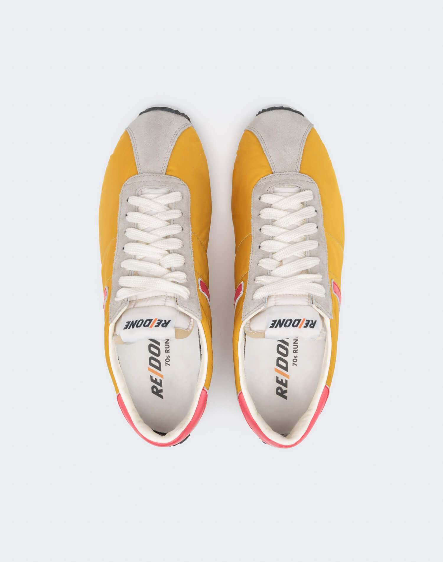 70s Runner Shoe - Yellow and Red 2