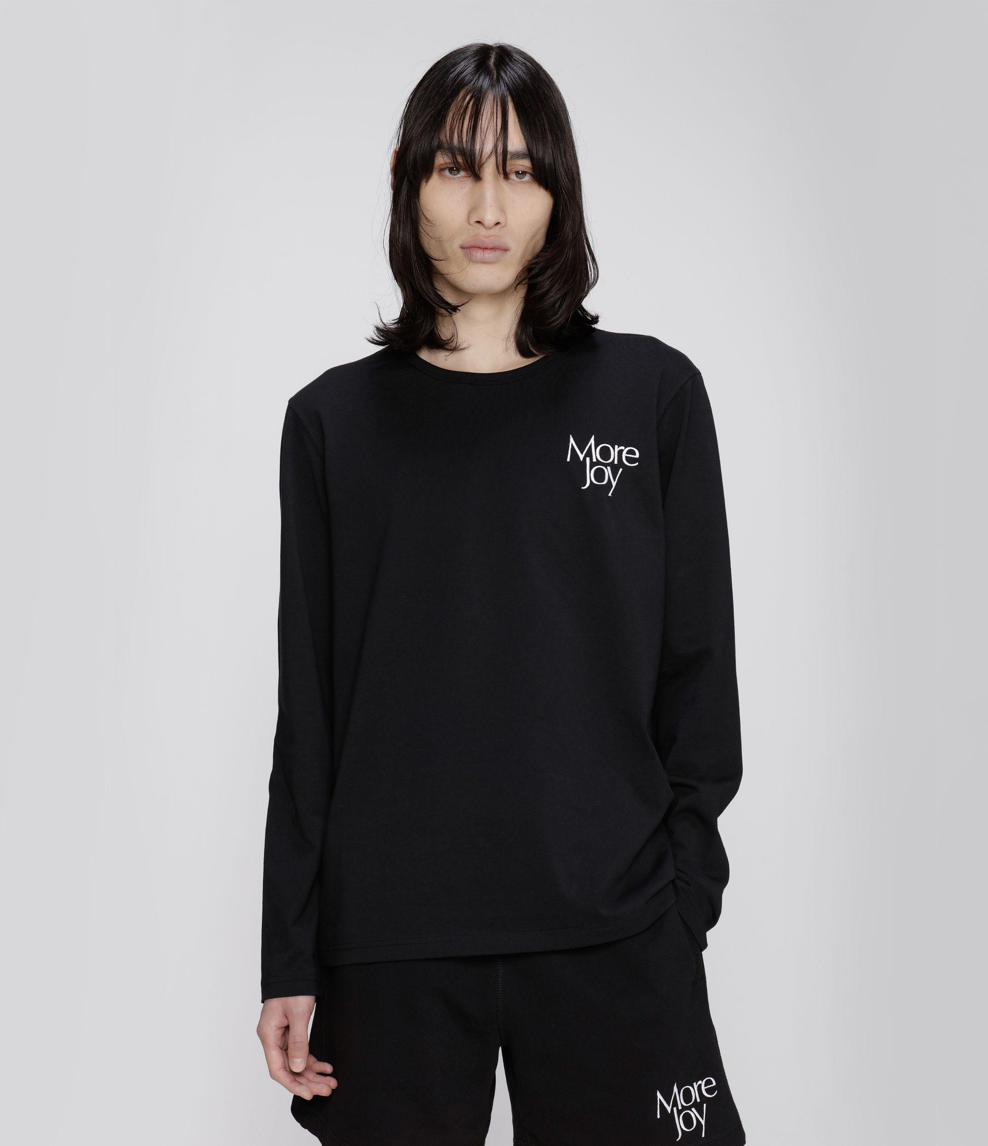 More Joy embroidered long sleeve t-shirt 1