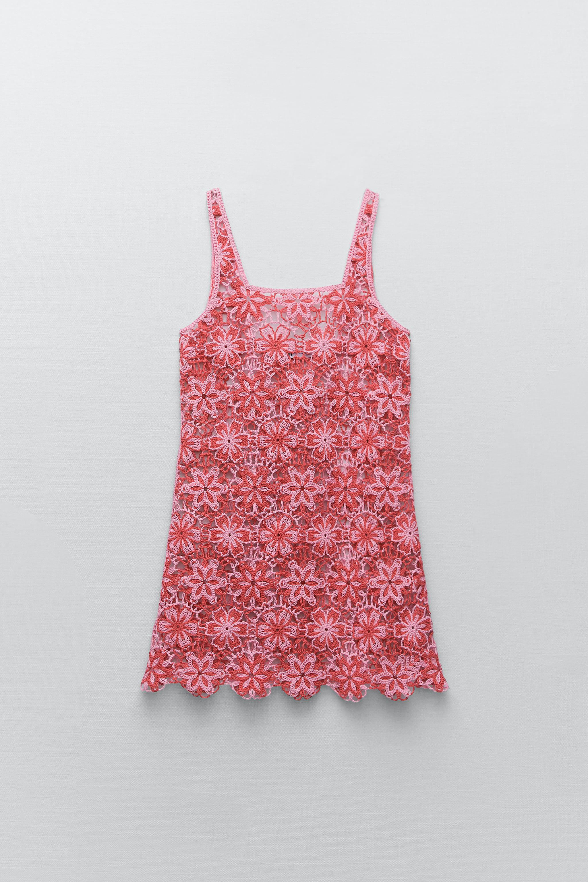 CROCHET FLORAL DRESS SPECIAL EDITION 1