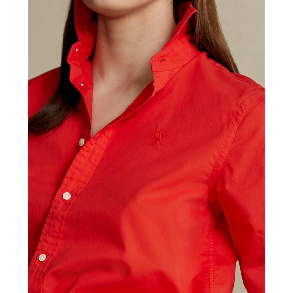 Relaxed Fit Cotton Twill Shirt 4