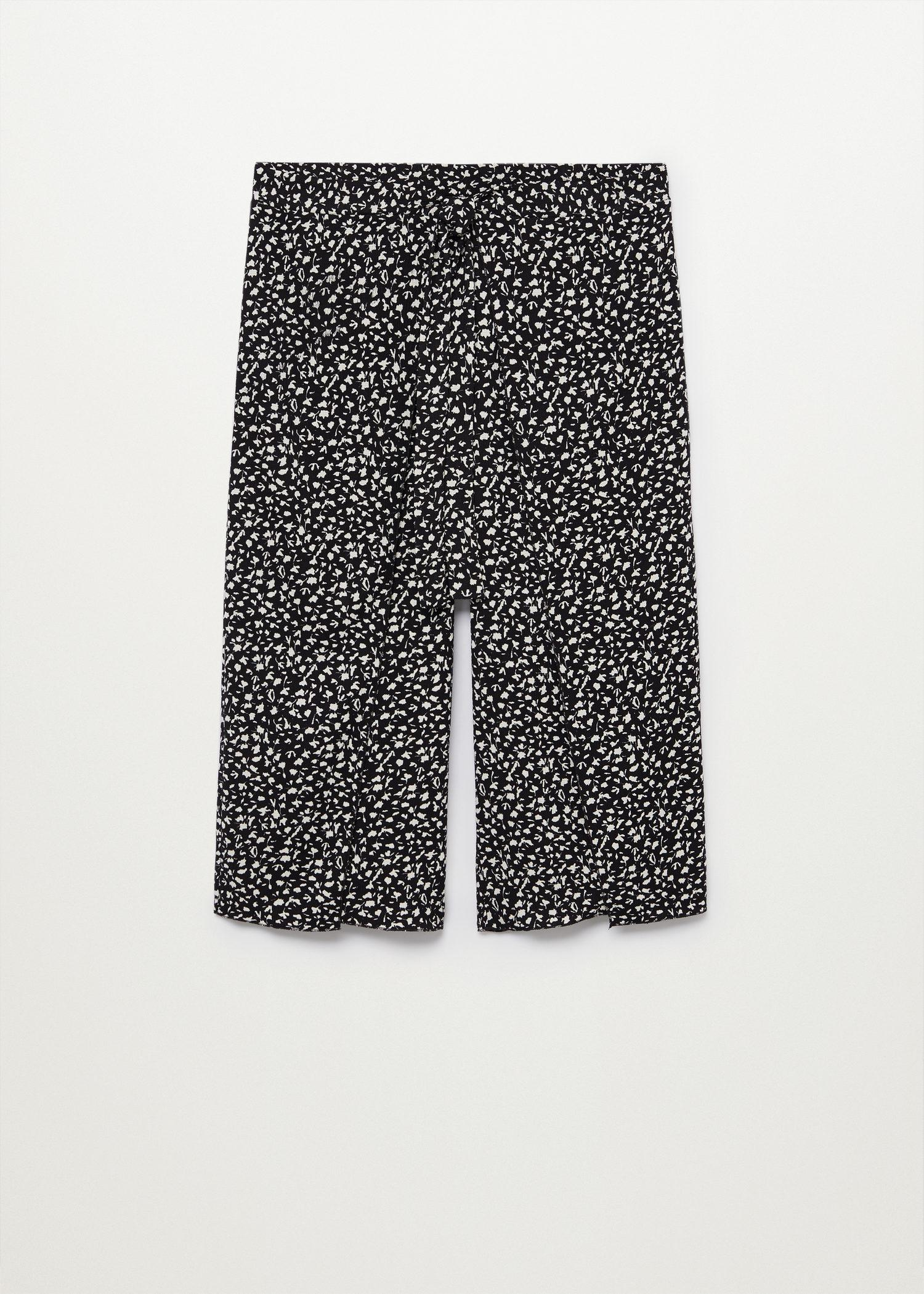 Printed culotte trousers 6