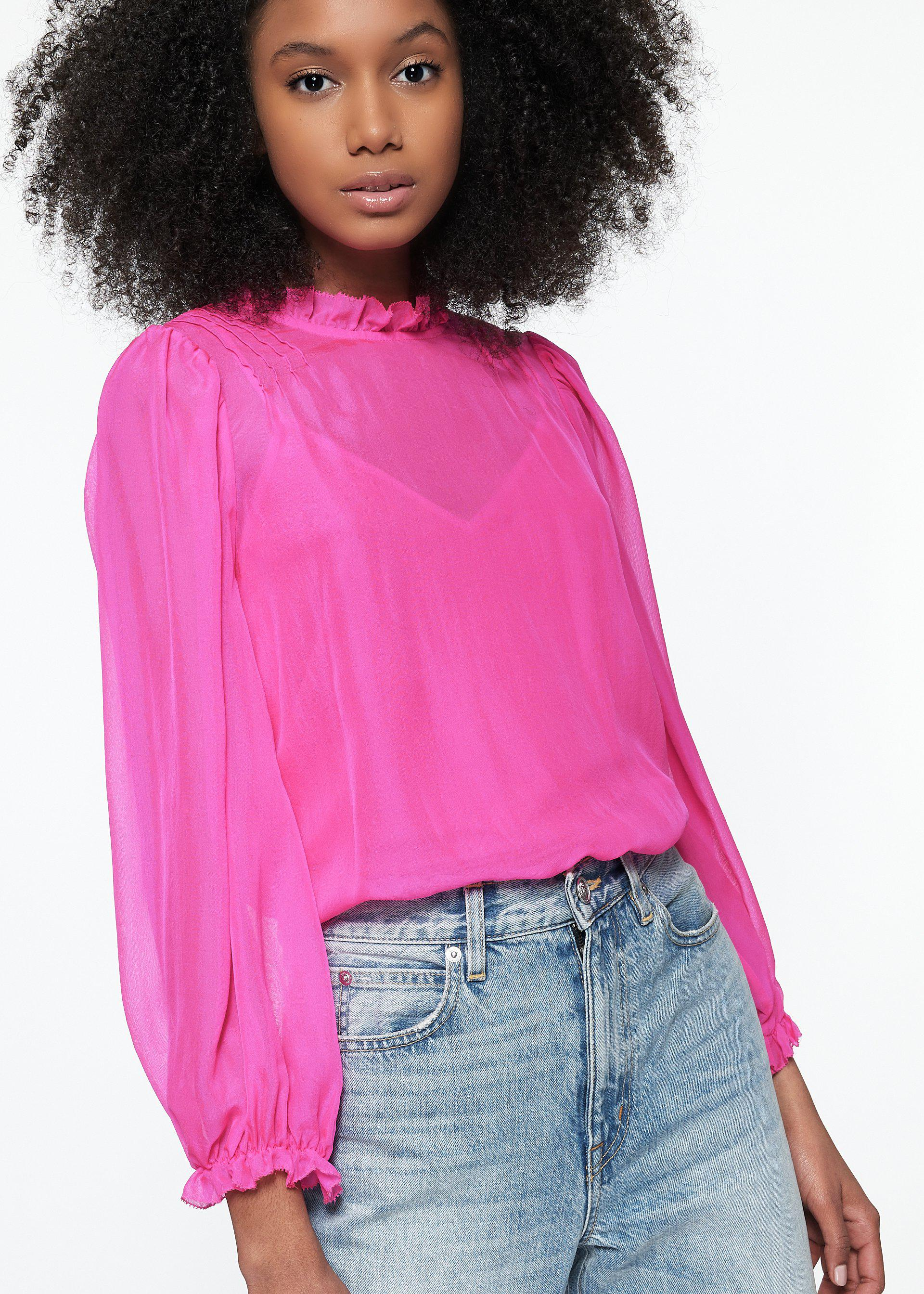 Nelly Top Neon Pink