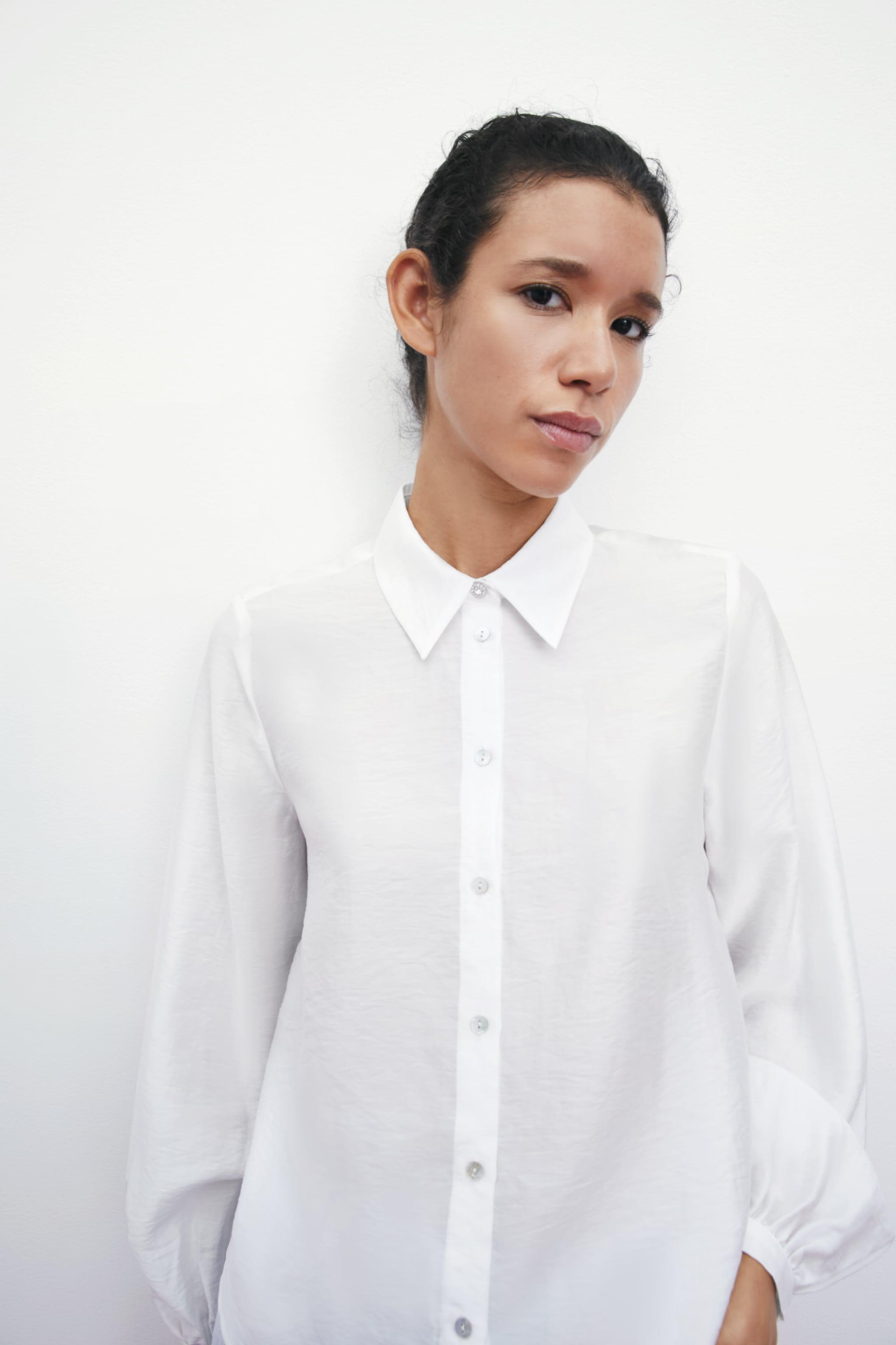 SHIRT WITH JEWEL BUTTONS 1