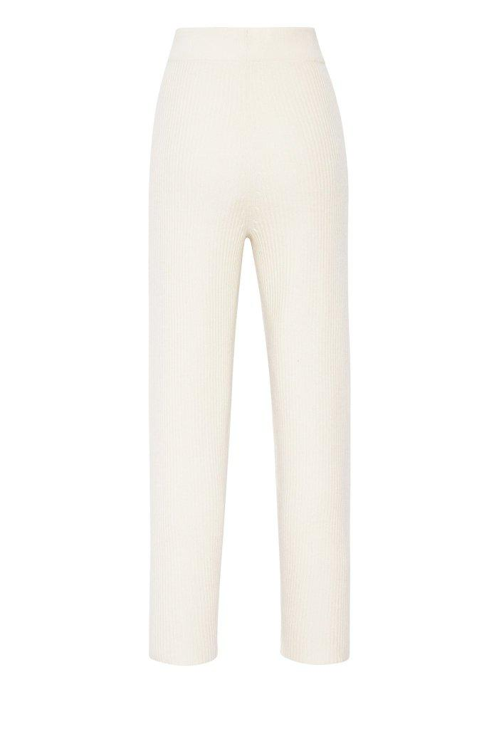 CASHMERE RIBBED PANT 2