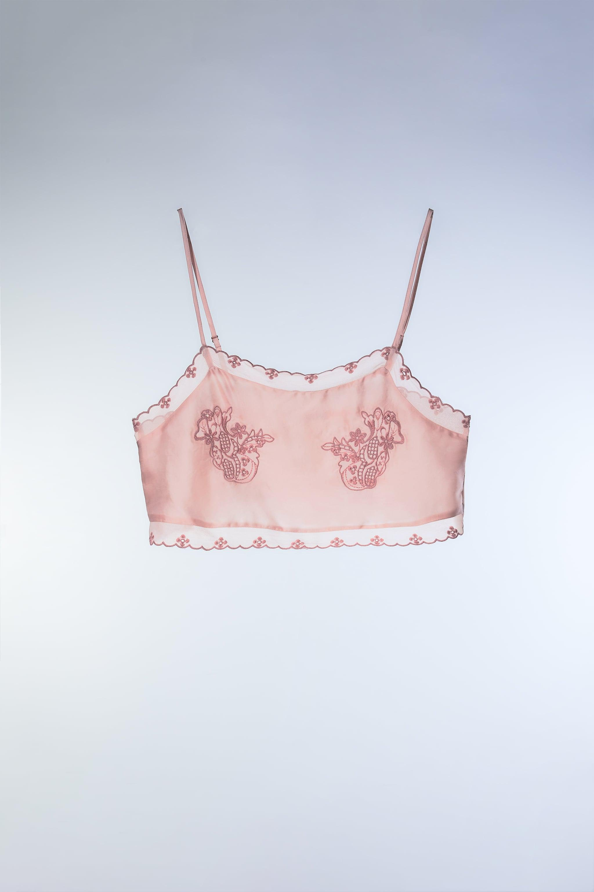 EMBROIDERED CROP TOP 1