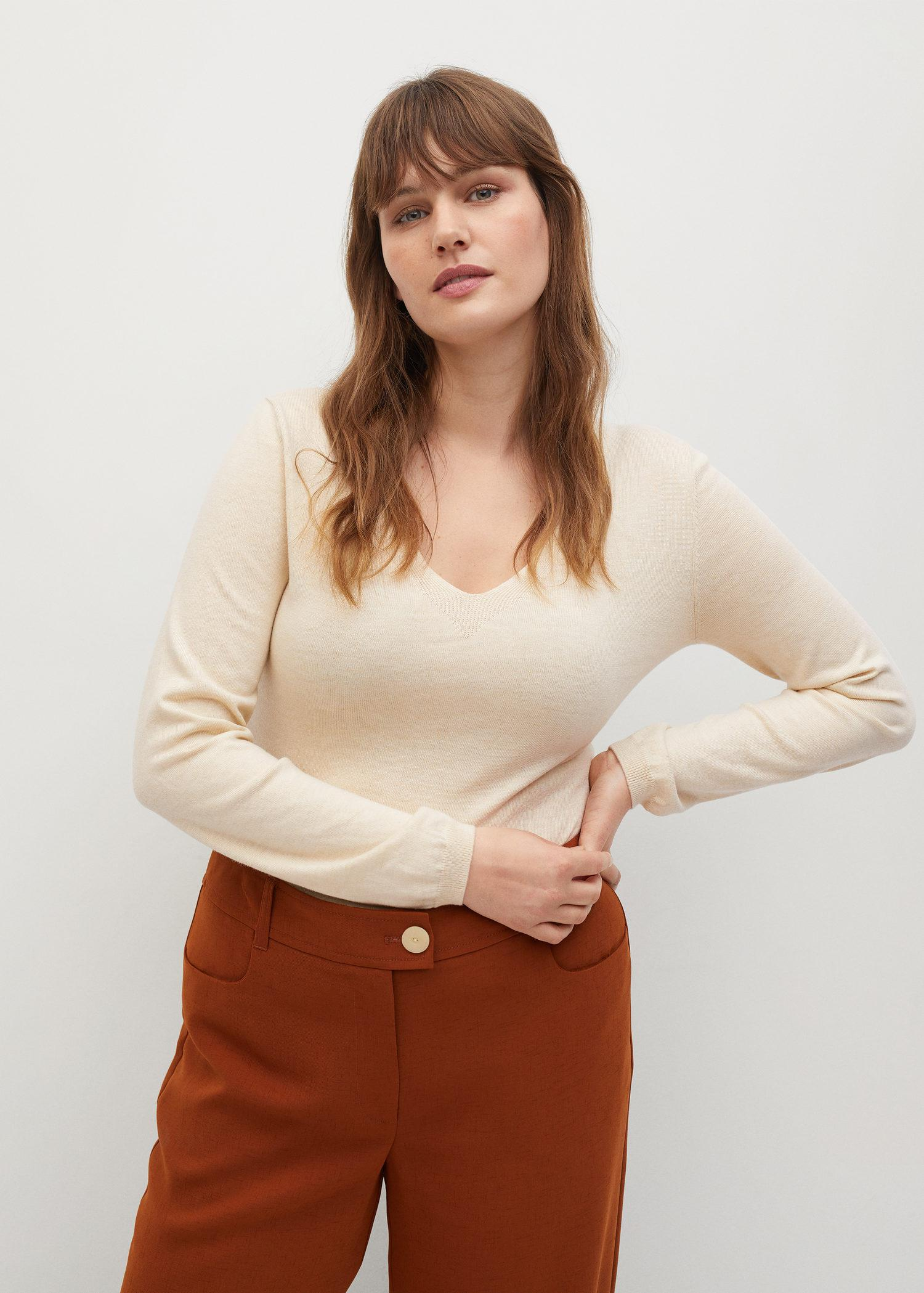 Long-sleeved knitted body 1