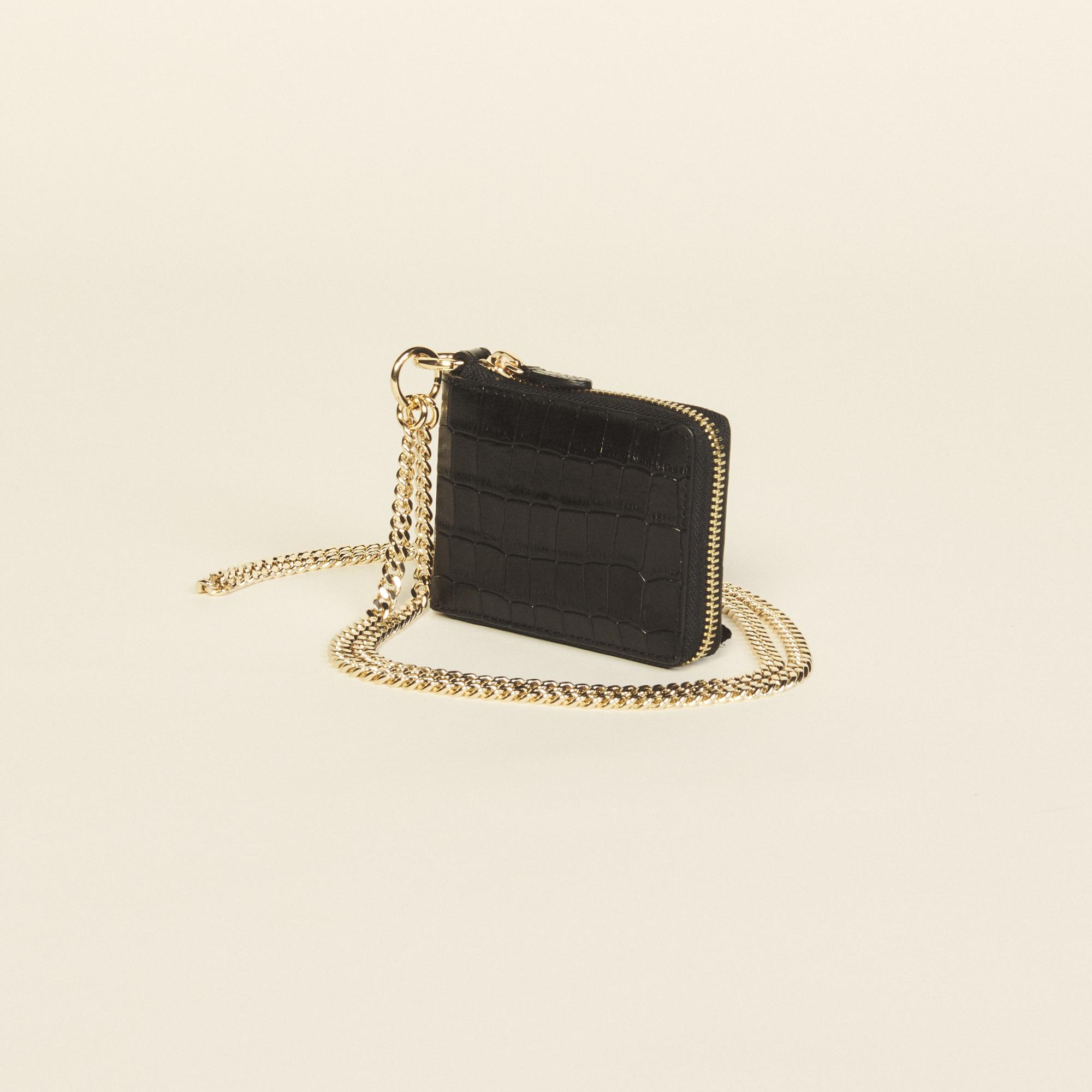 Purse with chain