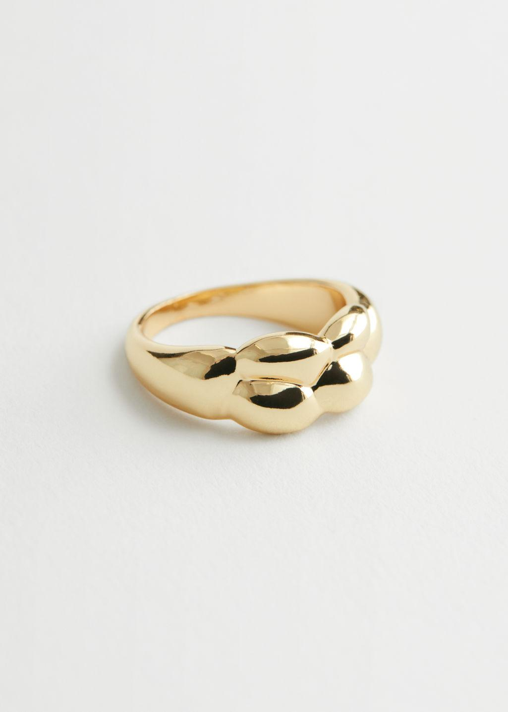 Bubble Embossed Ring