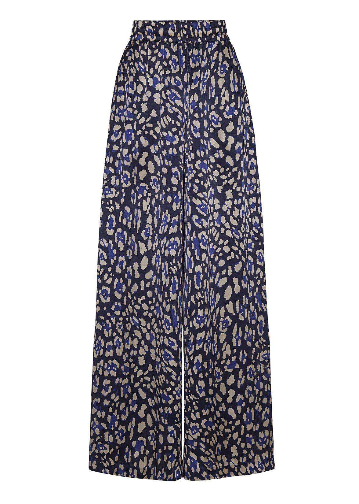 WIDE-LEG PANT IN PRINTED CHARMEUSE 1