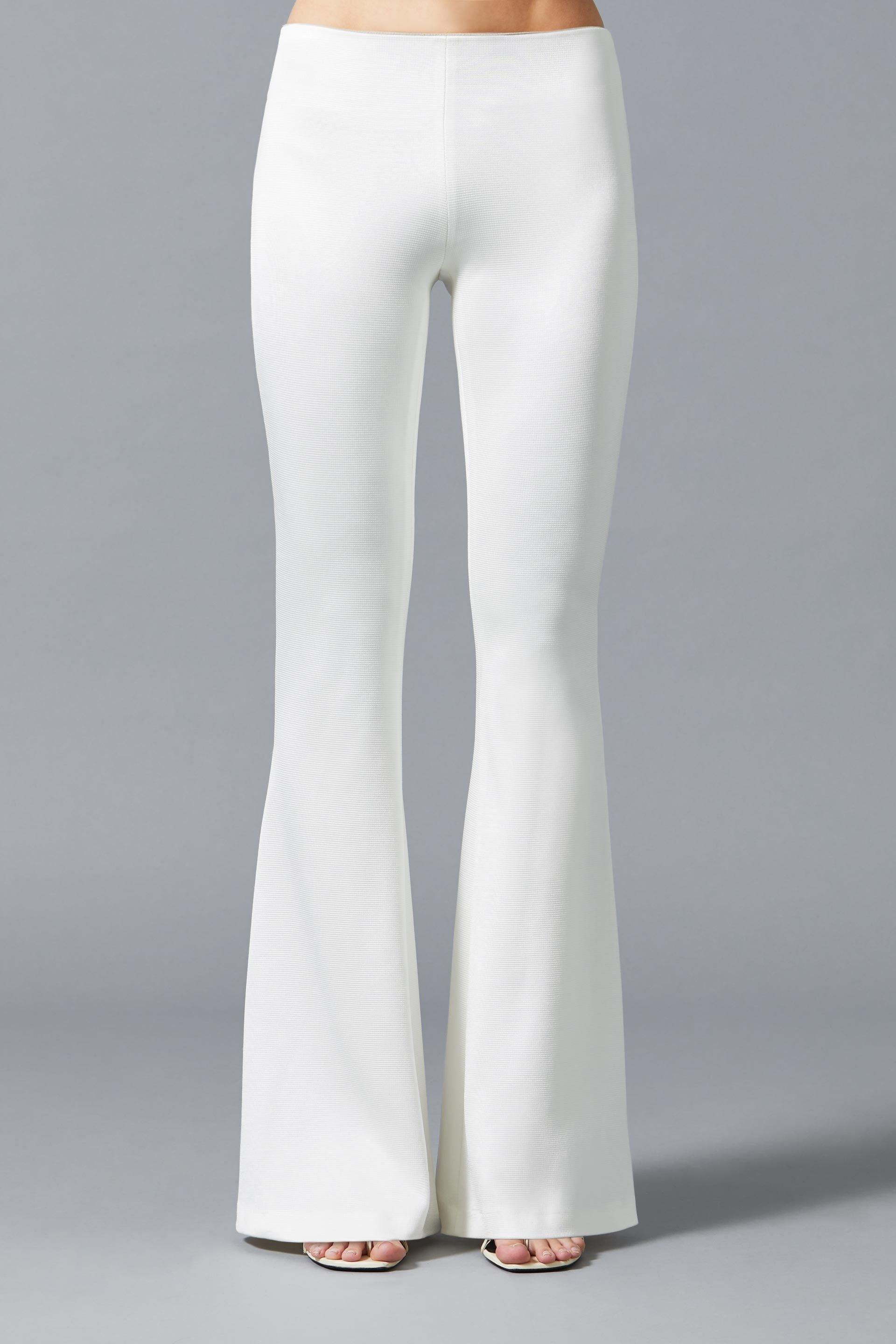 Jersey Flared Bridal Trousers 2