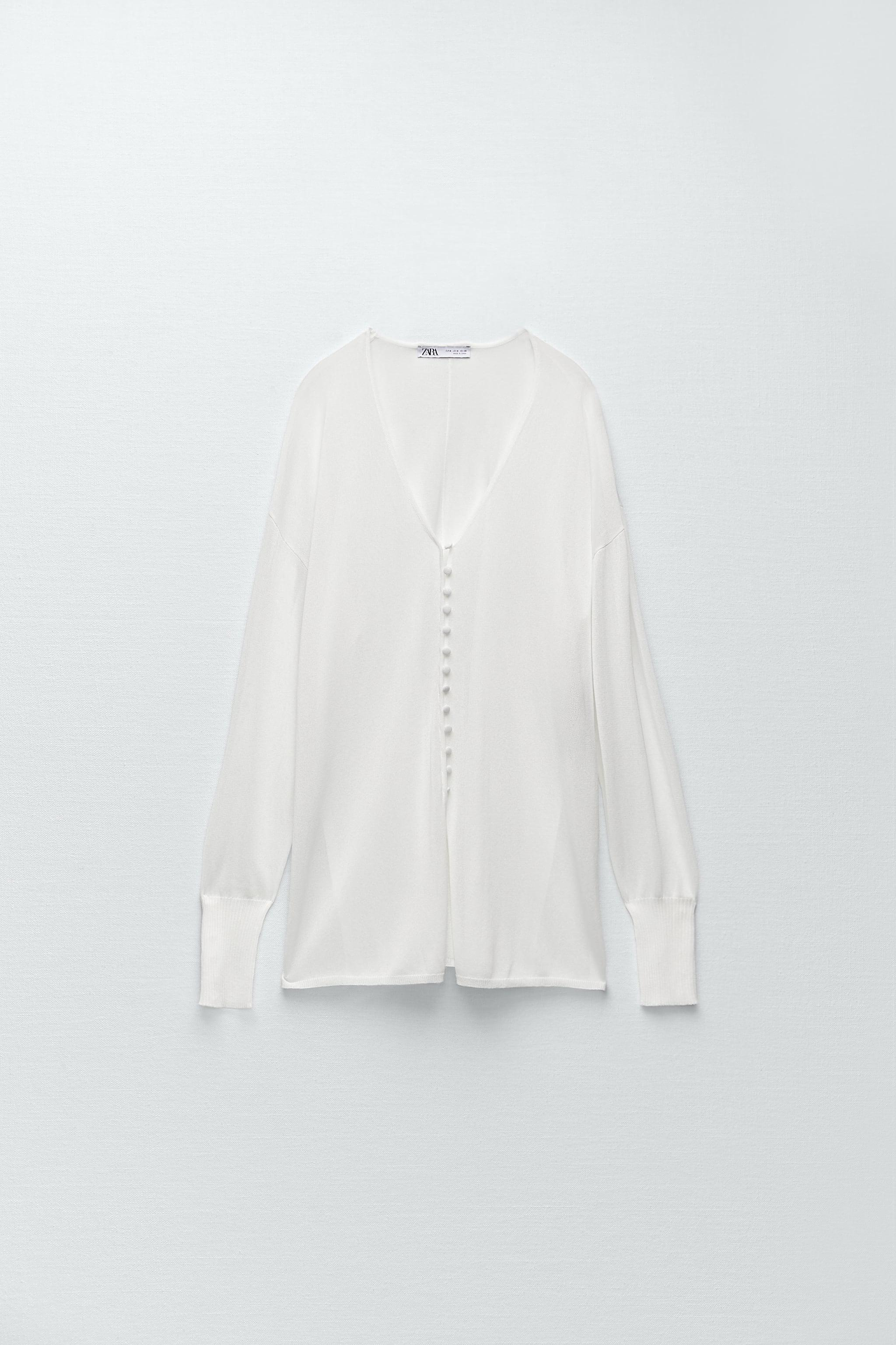 SEMI-SHEER KNIT BLOUSE LIMITED EDITION 4