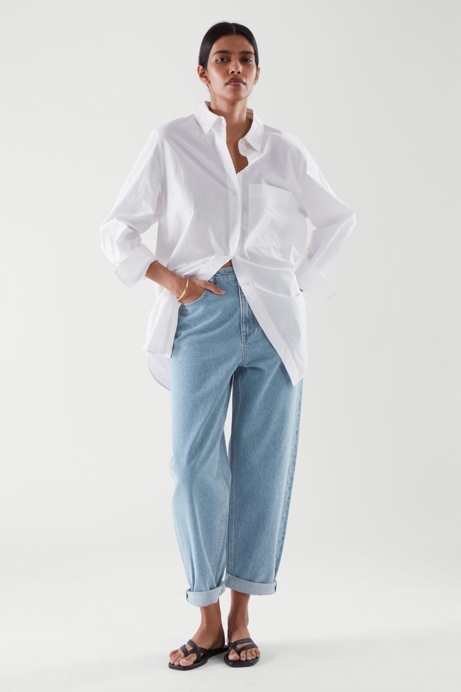 TAPERED HIGH-RISE JEANS 0