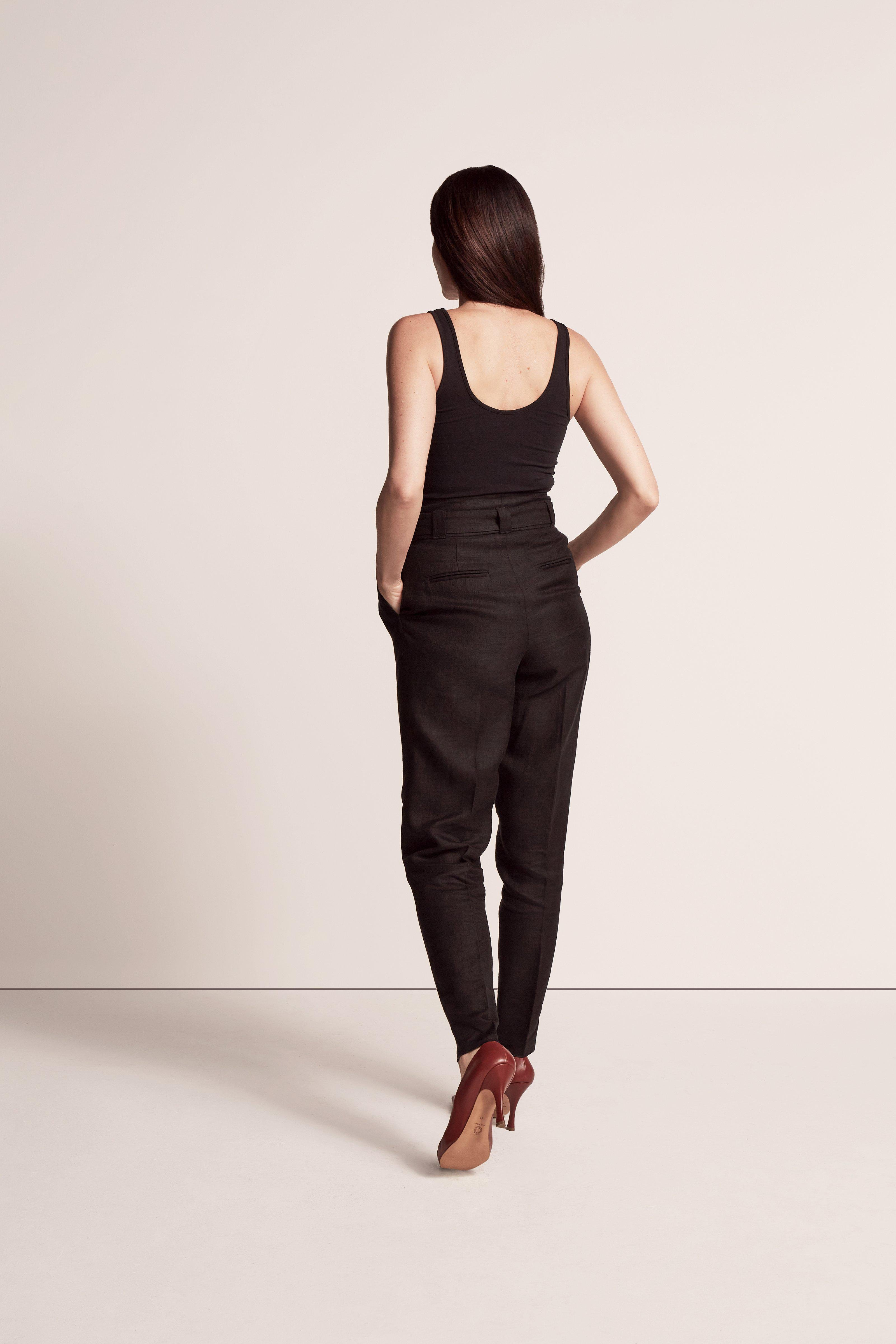 PAPER BAG PLEATED TROUSER 3
