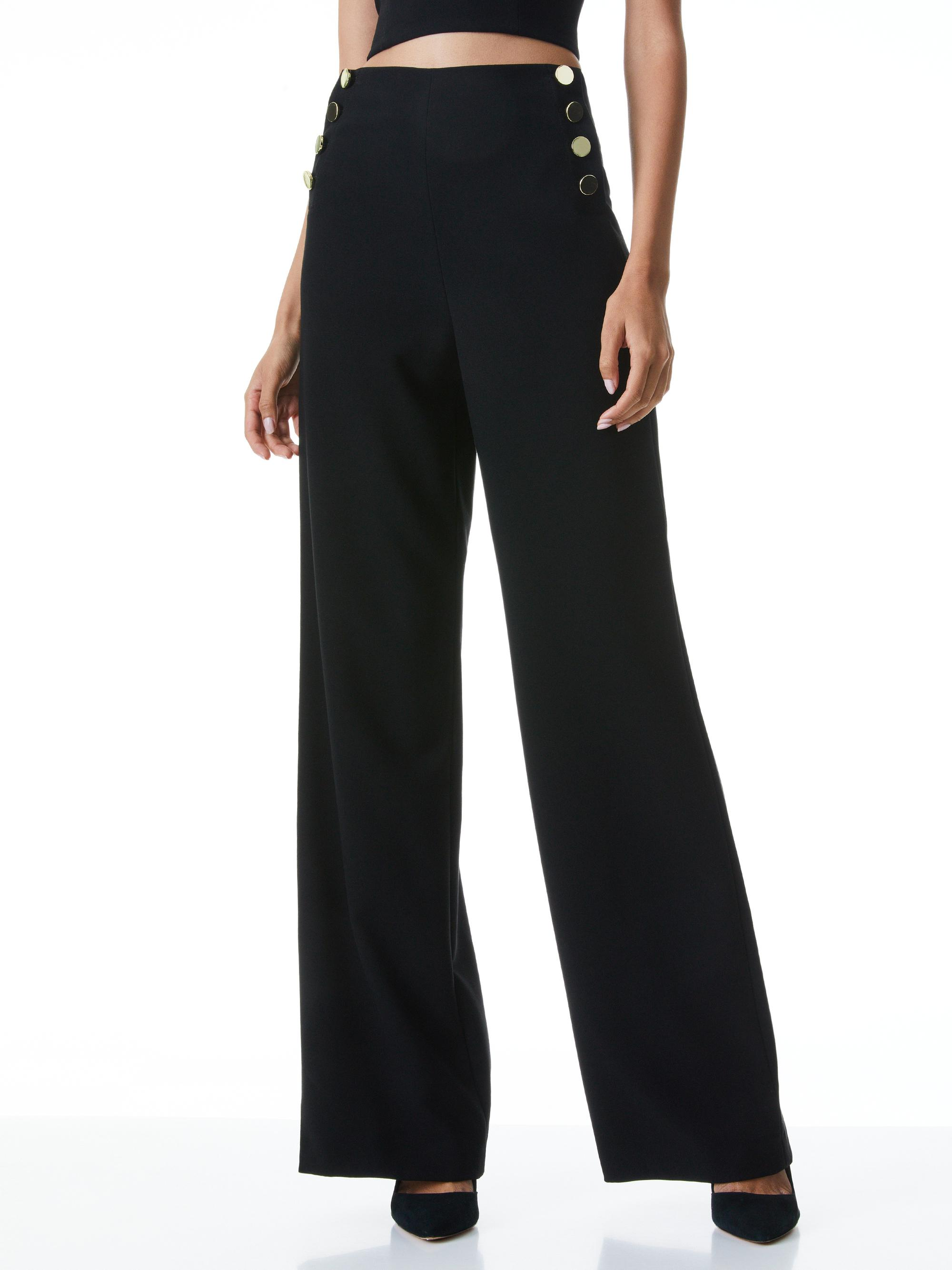 RAY BUTTON FRONT PANT