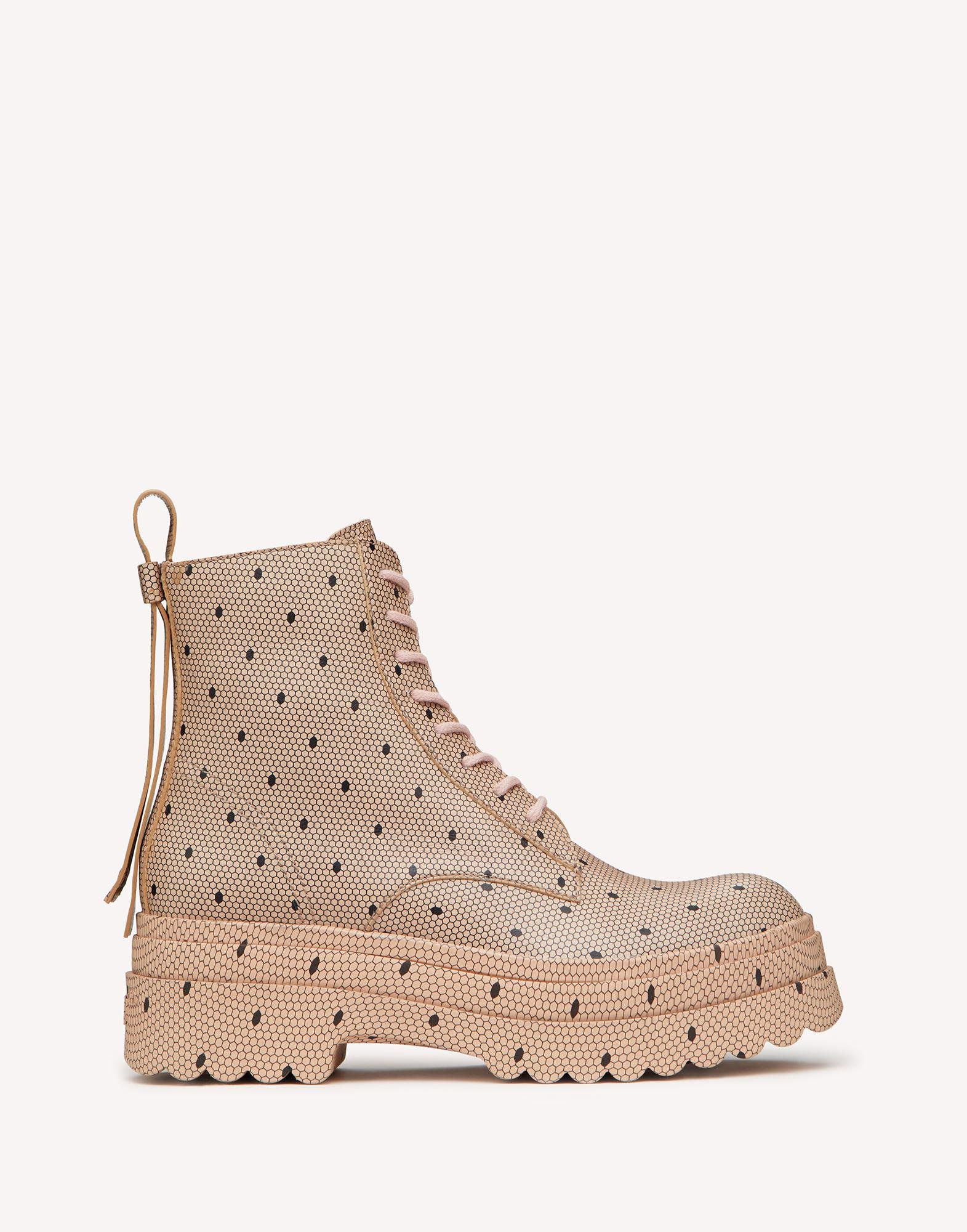 LYE(RED) SOLE COMBAT BOOT