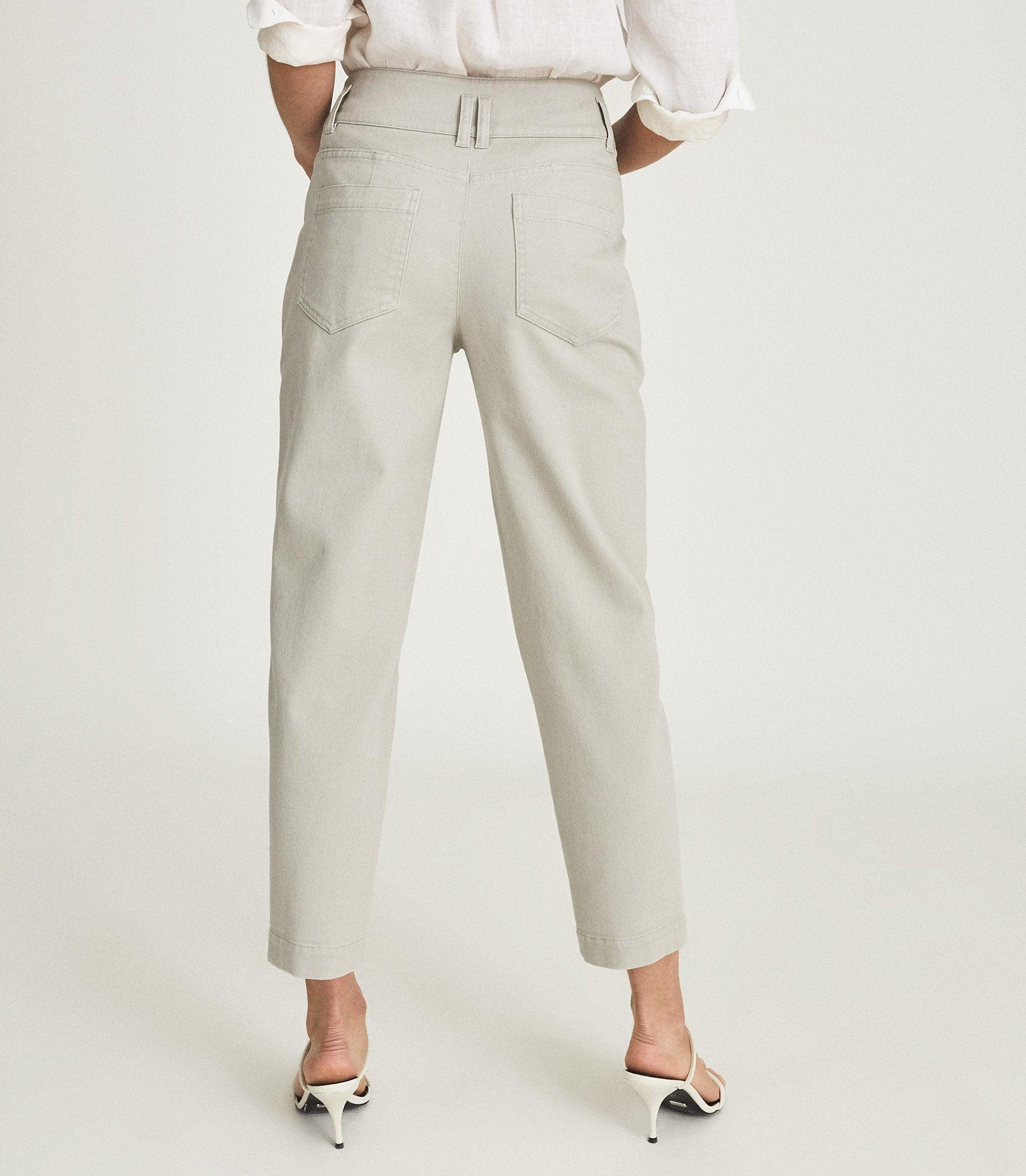 BAXTER - RELAXED TAPERED FIT TROUSERS 2