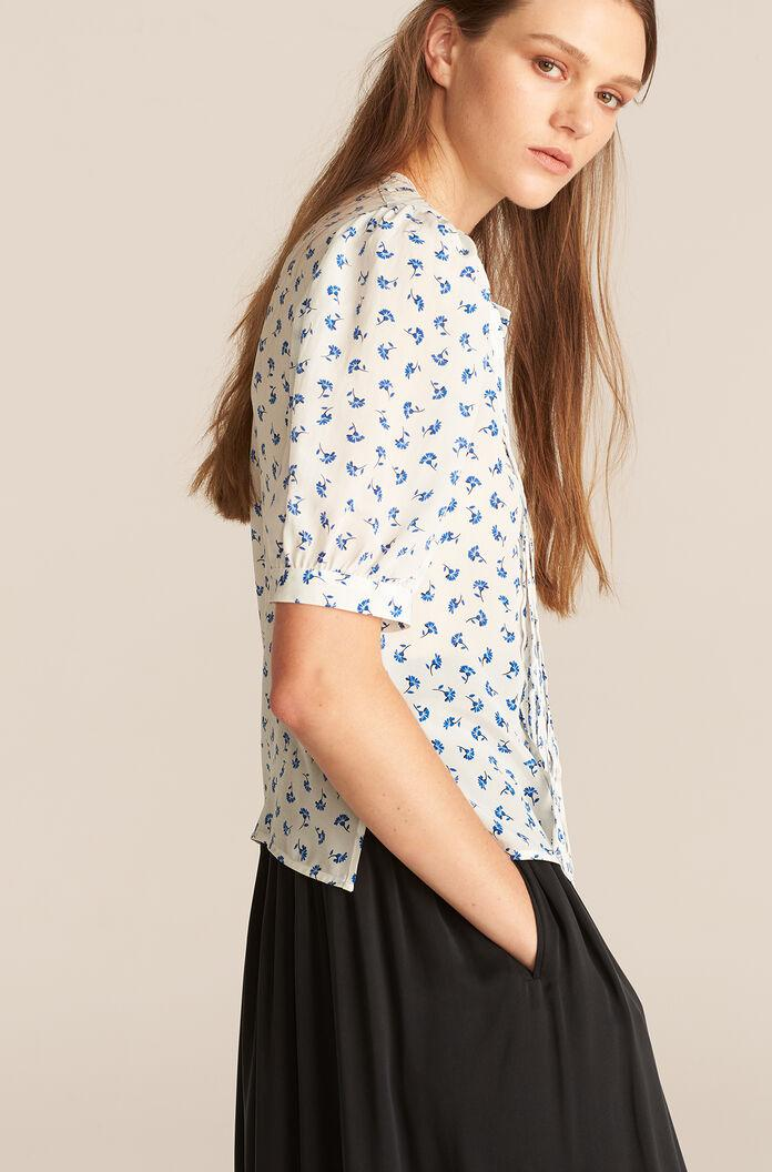 PUFF SLEEVE EMMY BLOUSE 1