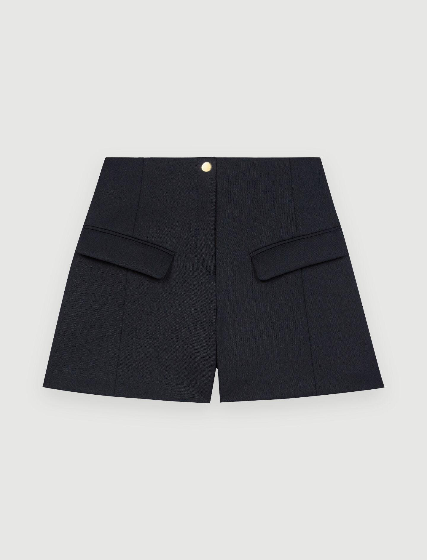 TAILORED SHORTS WITH POCKETS 4