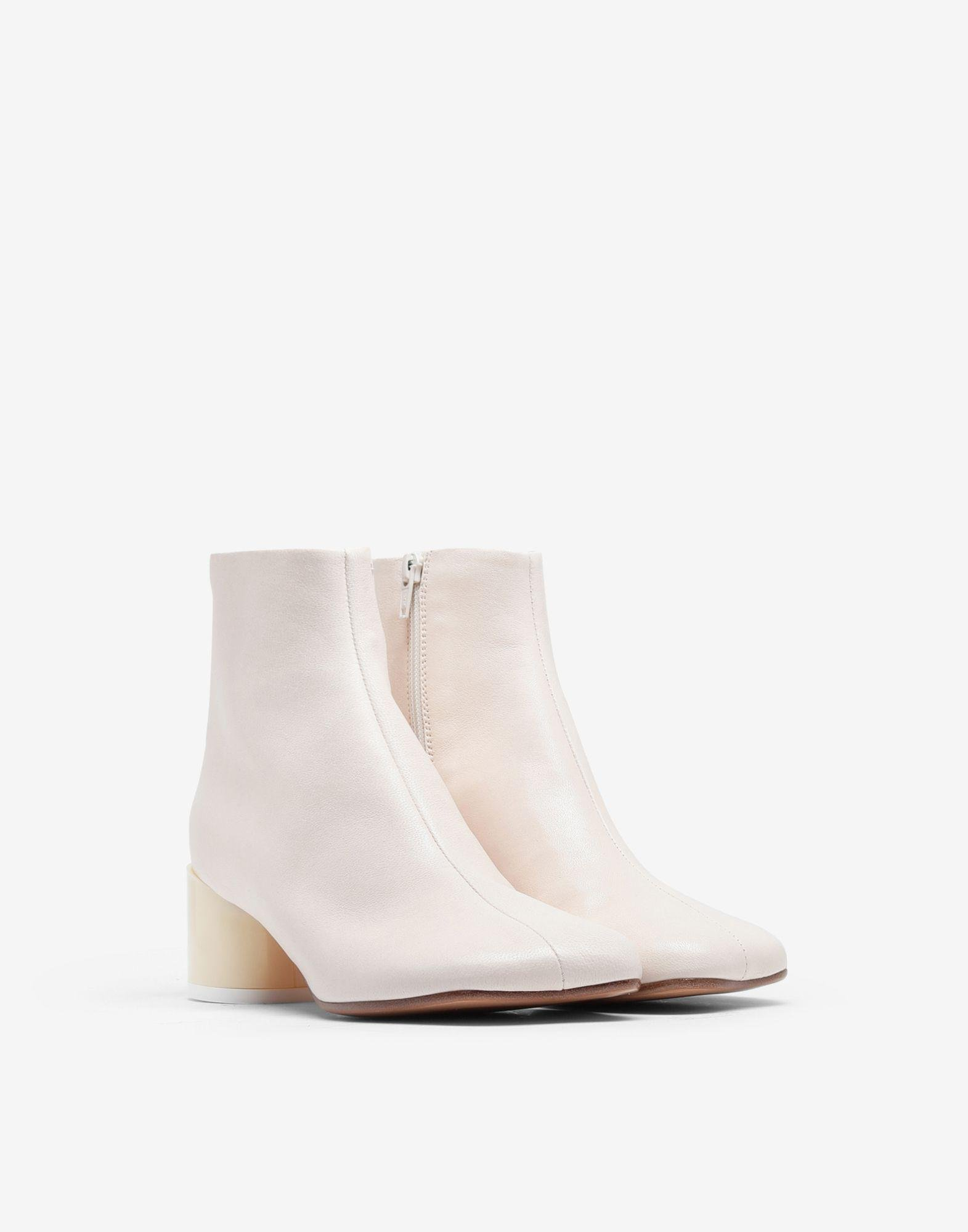 Leather ankle boots 1