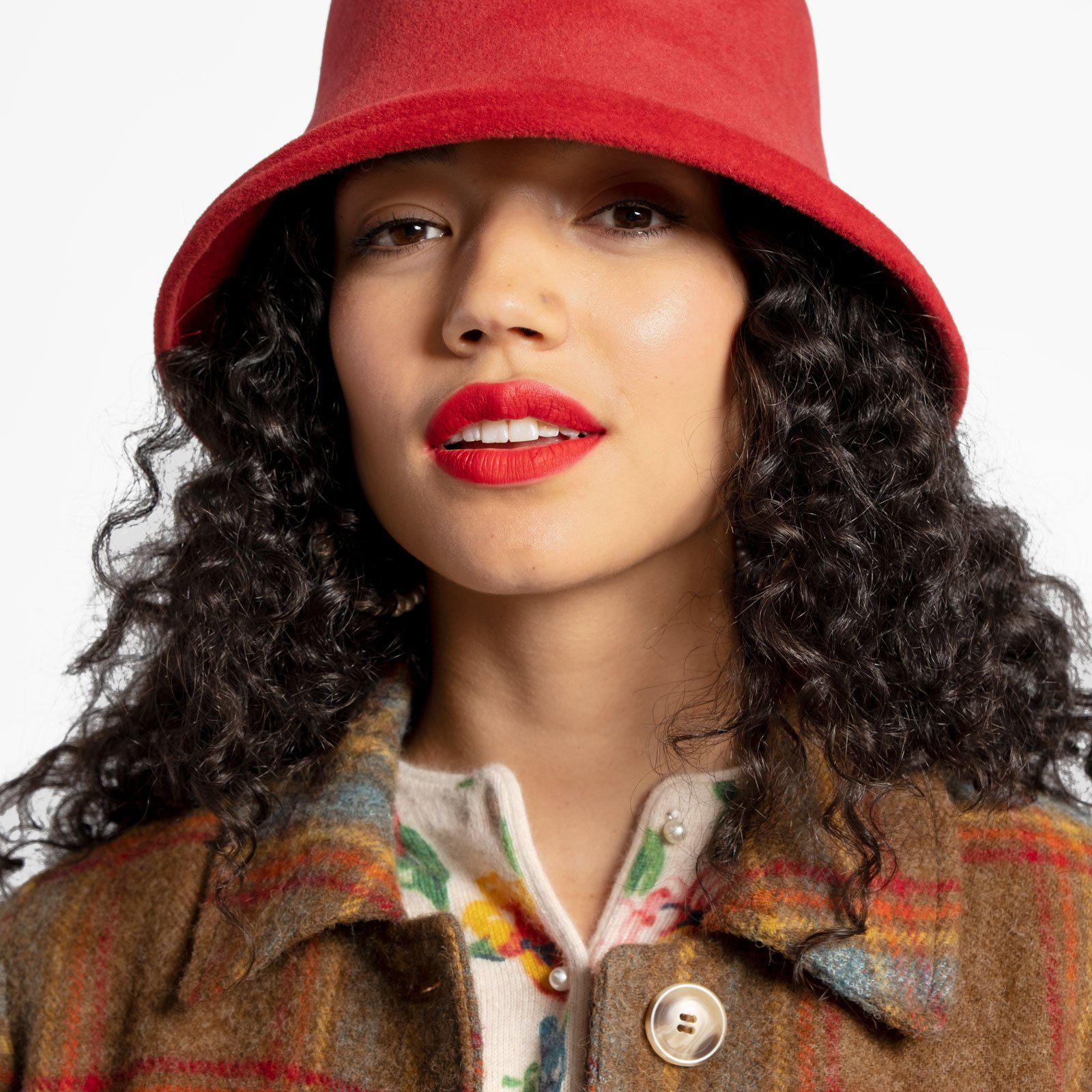 McGraw Hat Ruby Red 1