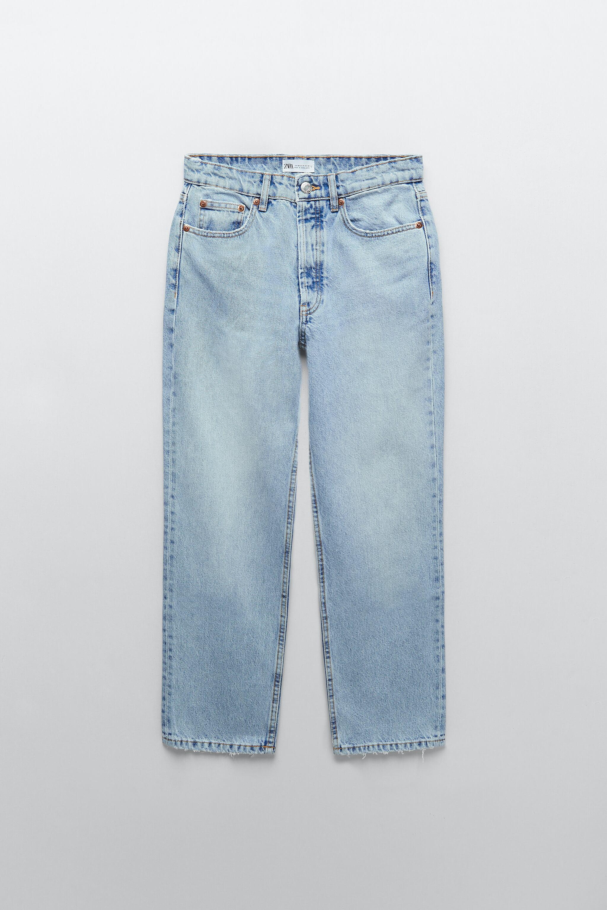 MID-RISE STRAIGHT LEG ANKLE LENGTH JEANS 5