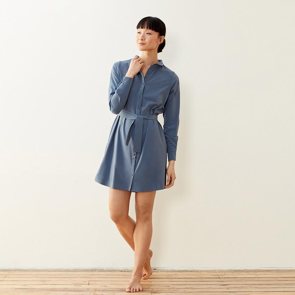 Back To Front Shirt Dress