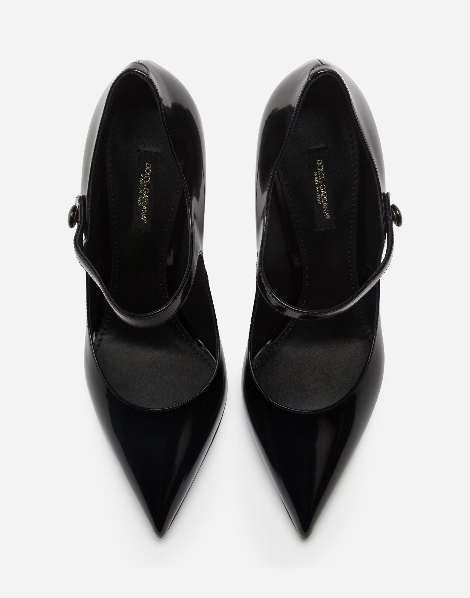 Mary Jane shoes in polished calfskin 3