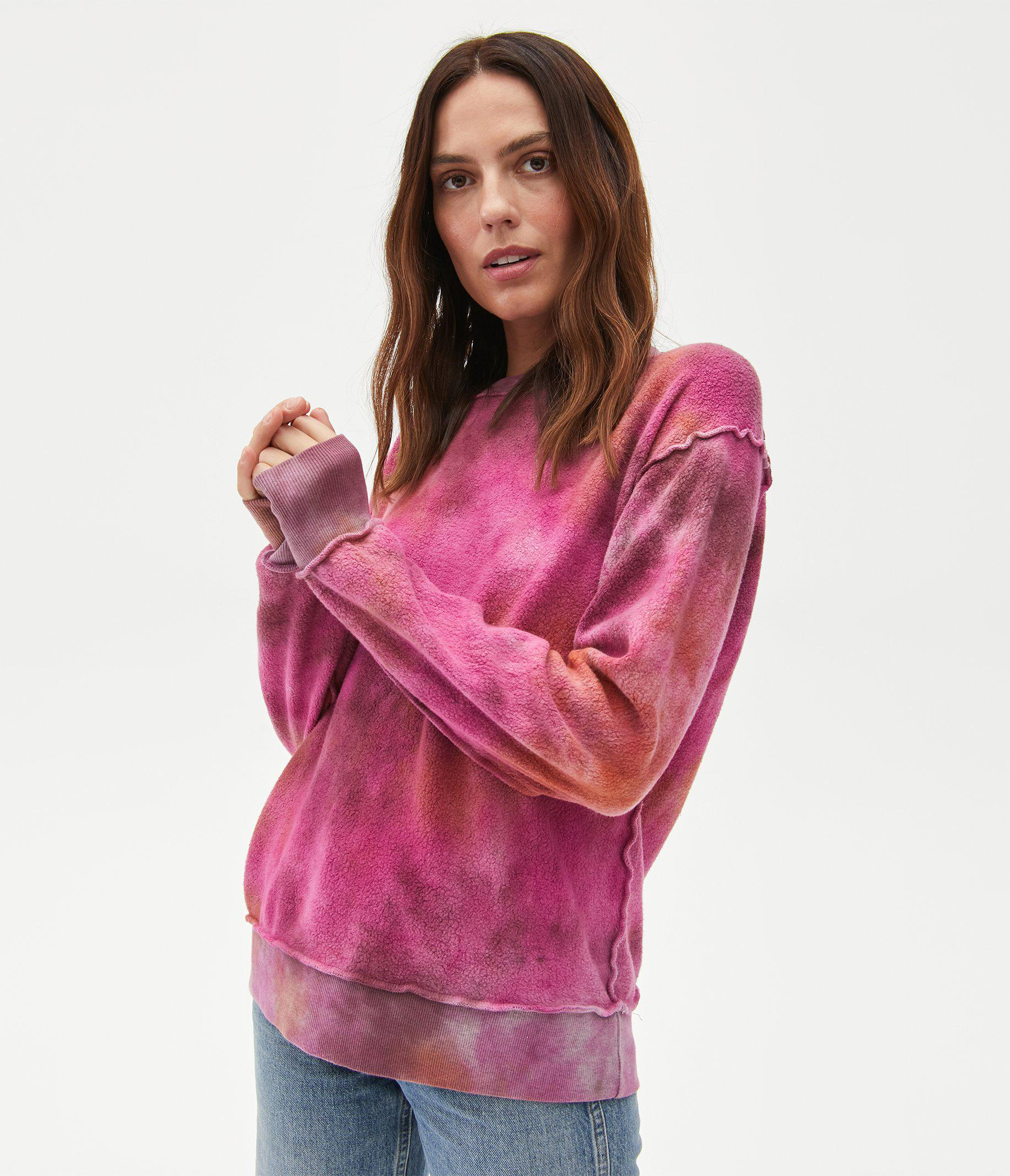 Piper Reversible Tie Dyed Pullover