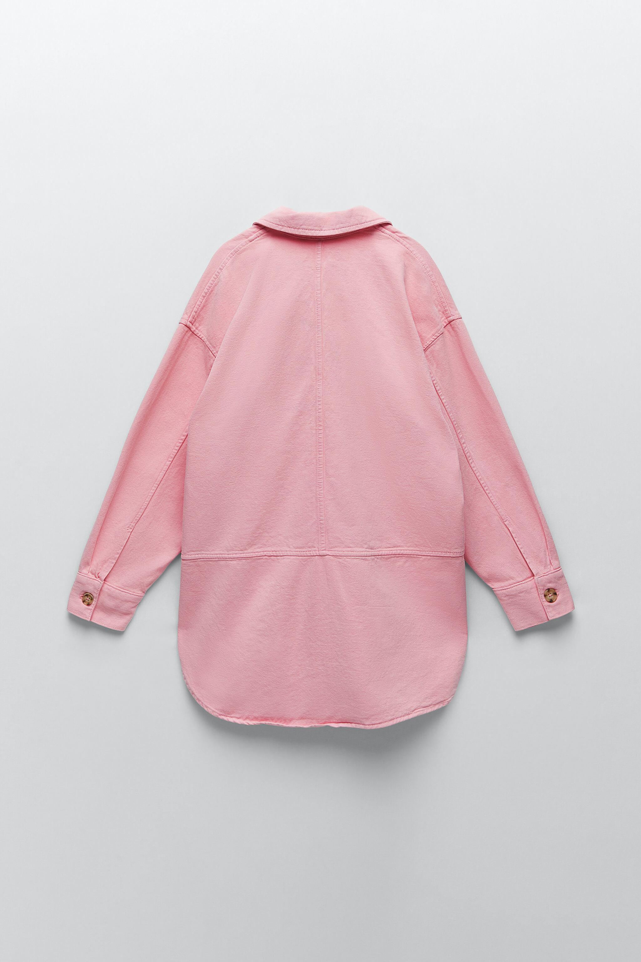 SOLID COLOR OVERSHIRT 2